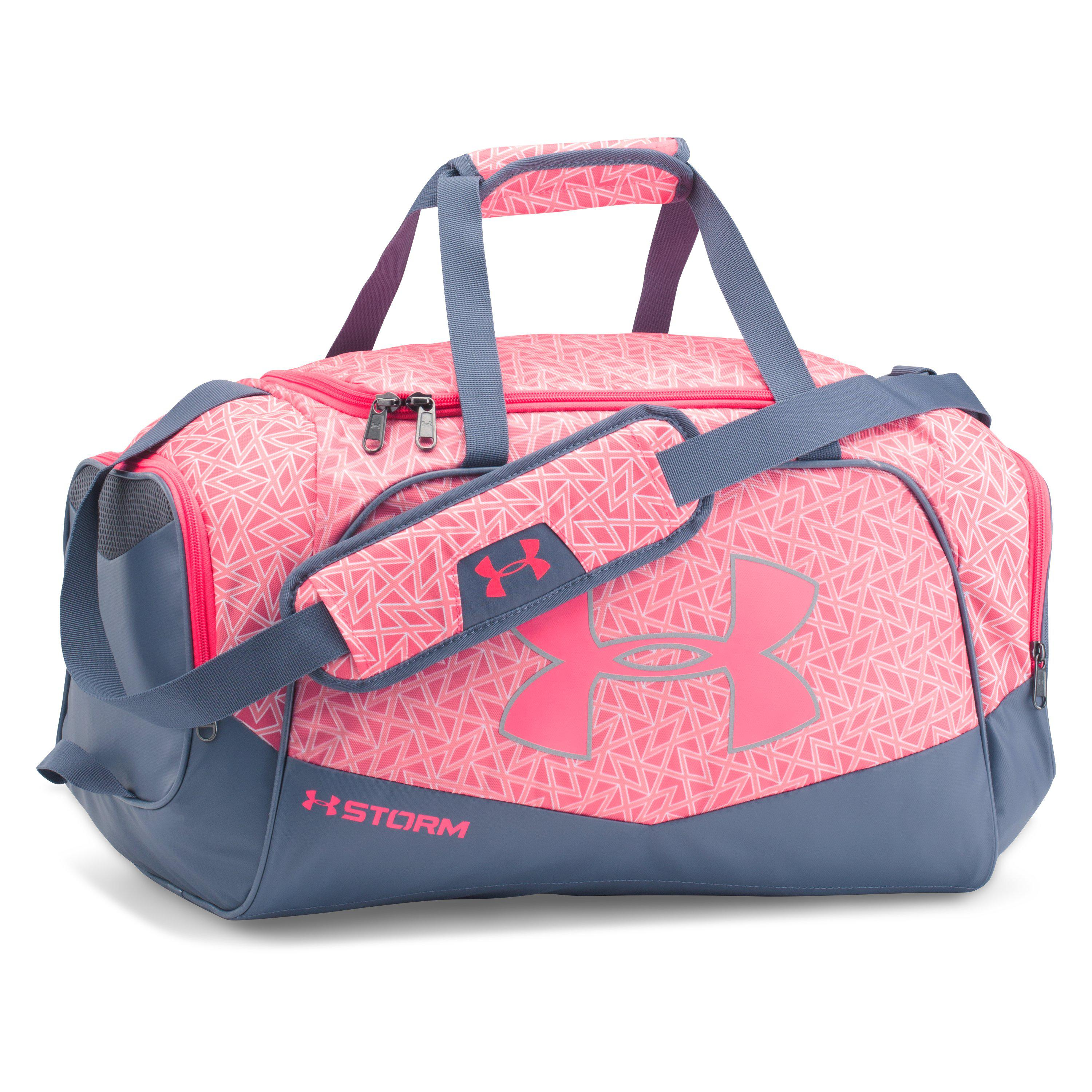 3ffe8a749d0 Under Armour Ua Stardom Ii Small Duffle in Pink - Lyst