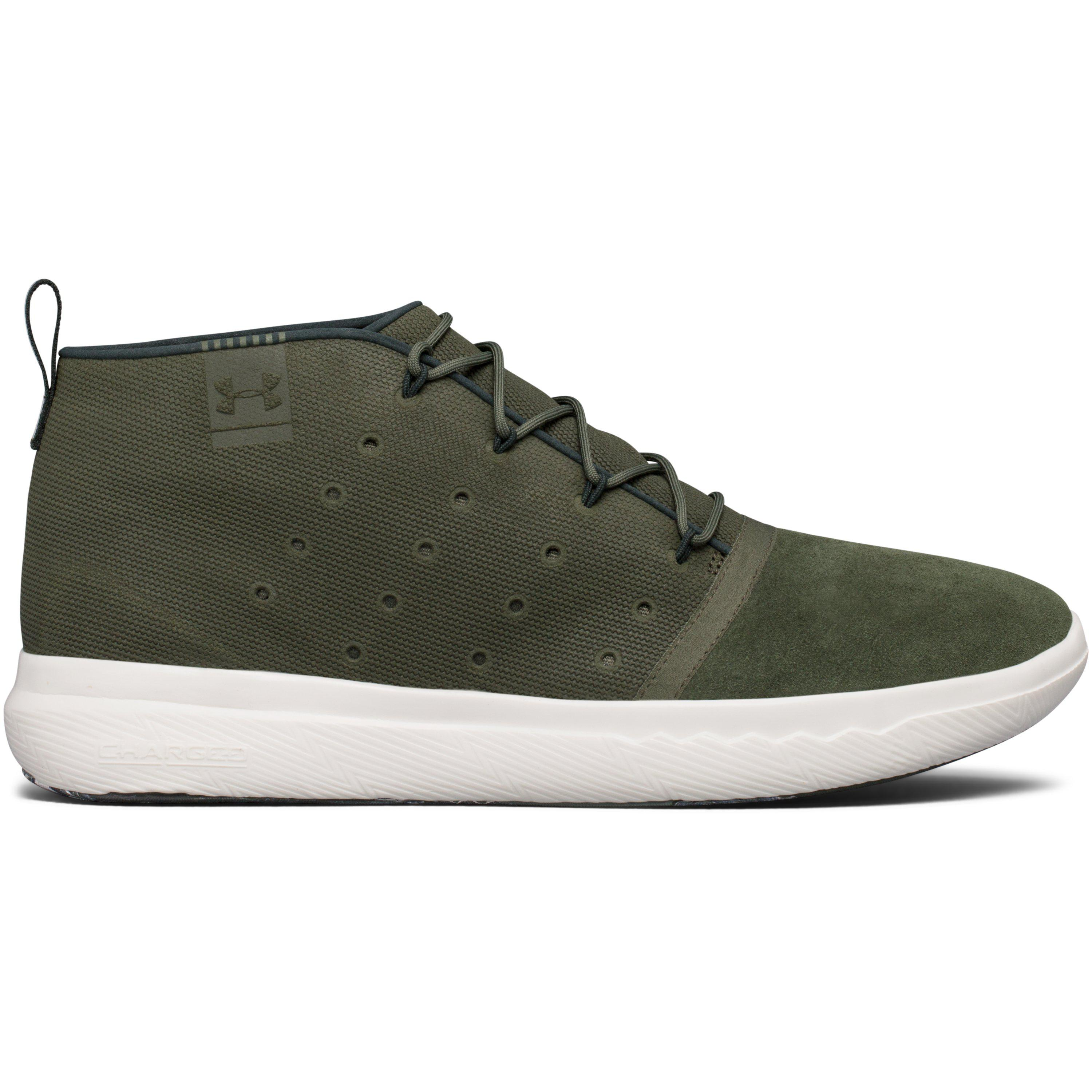 7bad6a745a Lyst - Under Armour Men s Ua Charged 24 7 Mid Marble Lifestyle Shoes ...