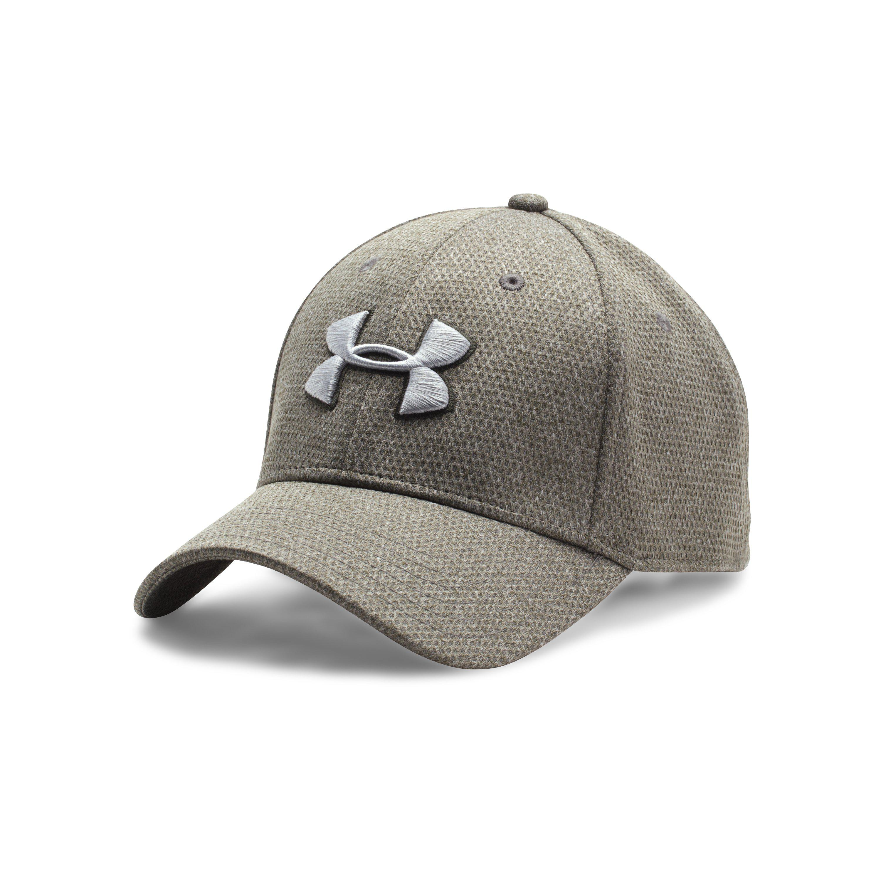 0f127761efd Lyst - Under Armour Men s Ua Heathered Blitzing Cap in Green for Men