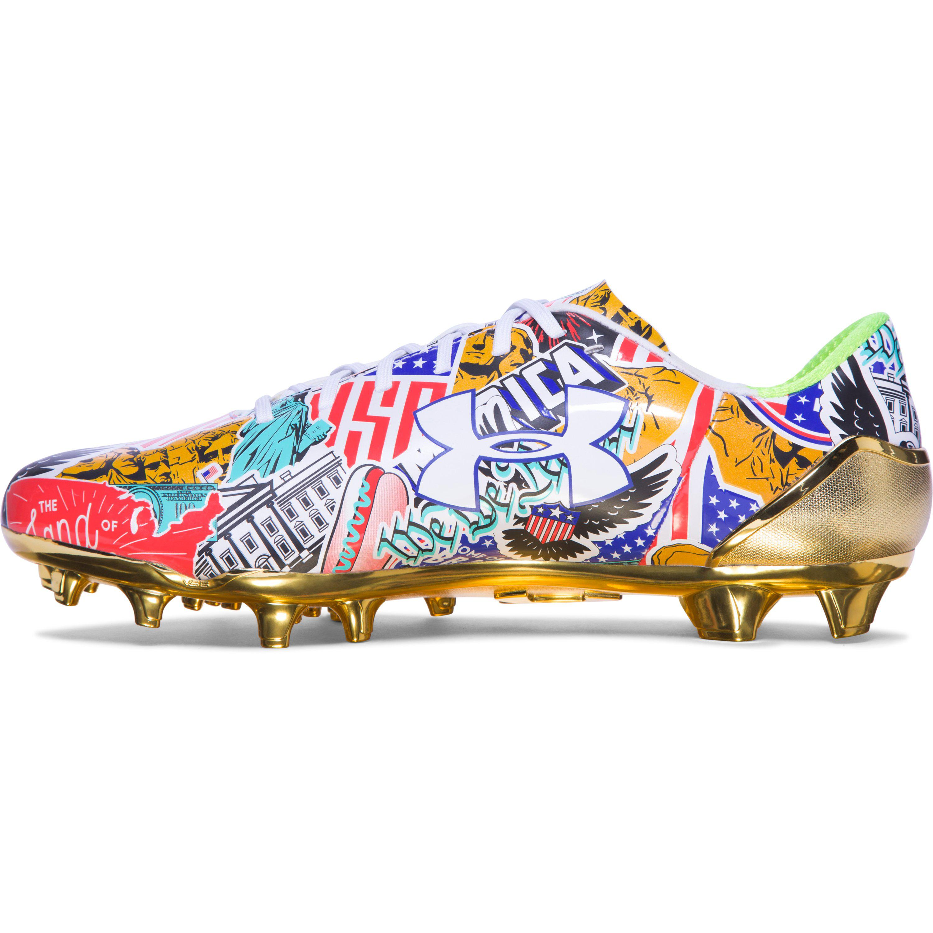 pretty nice d8a24 28442 Under Armour Ua Spotlight Limited Edition Football Cleats Sneakers ...