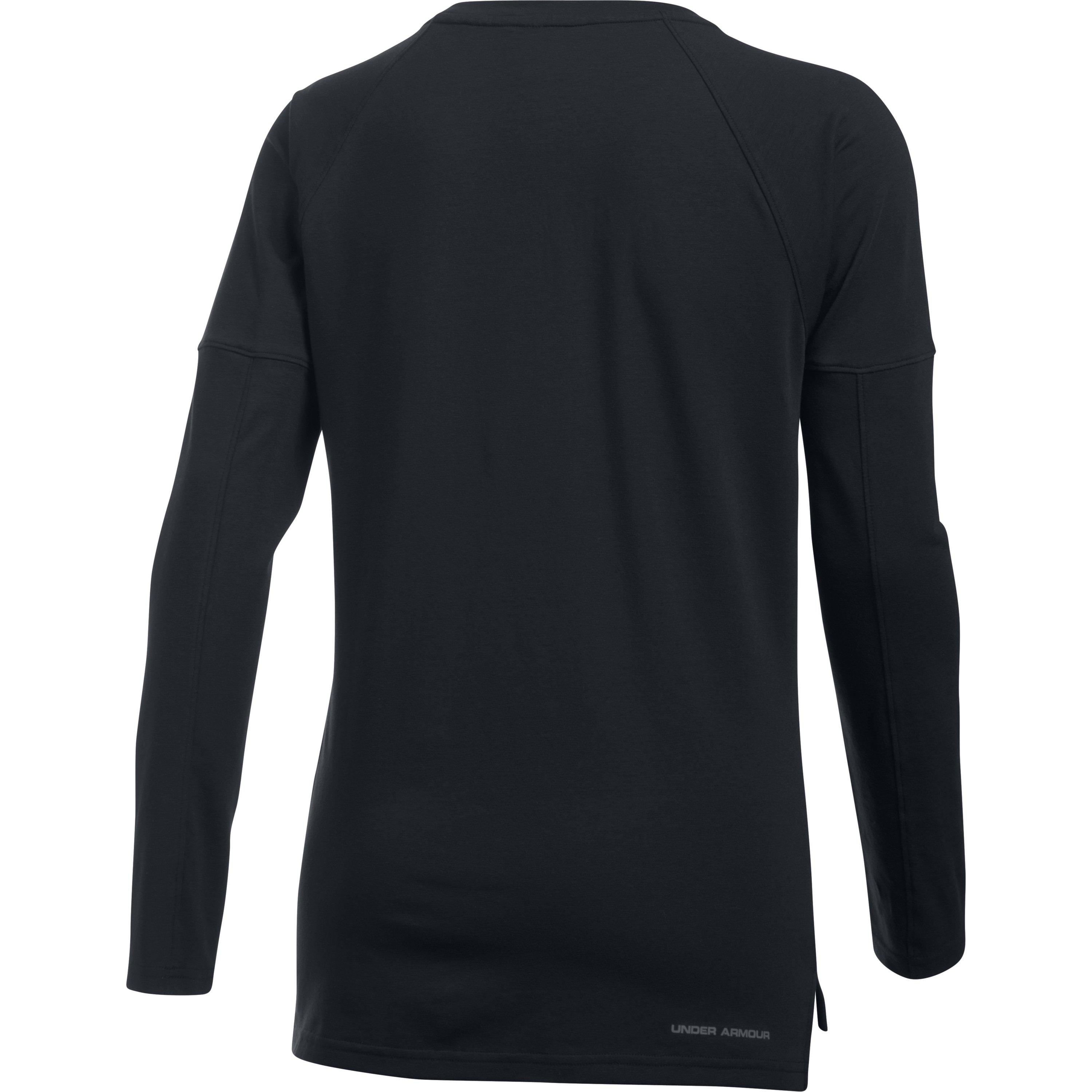 wholesale dealer 997f7 b51d5 ... Lyst - Under Armour Women s Ua Rest Day Long Sleeve in Black ...