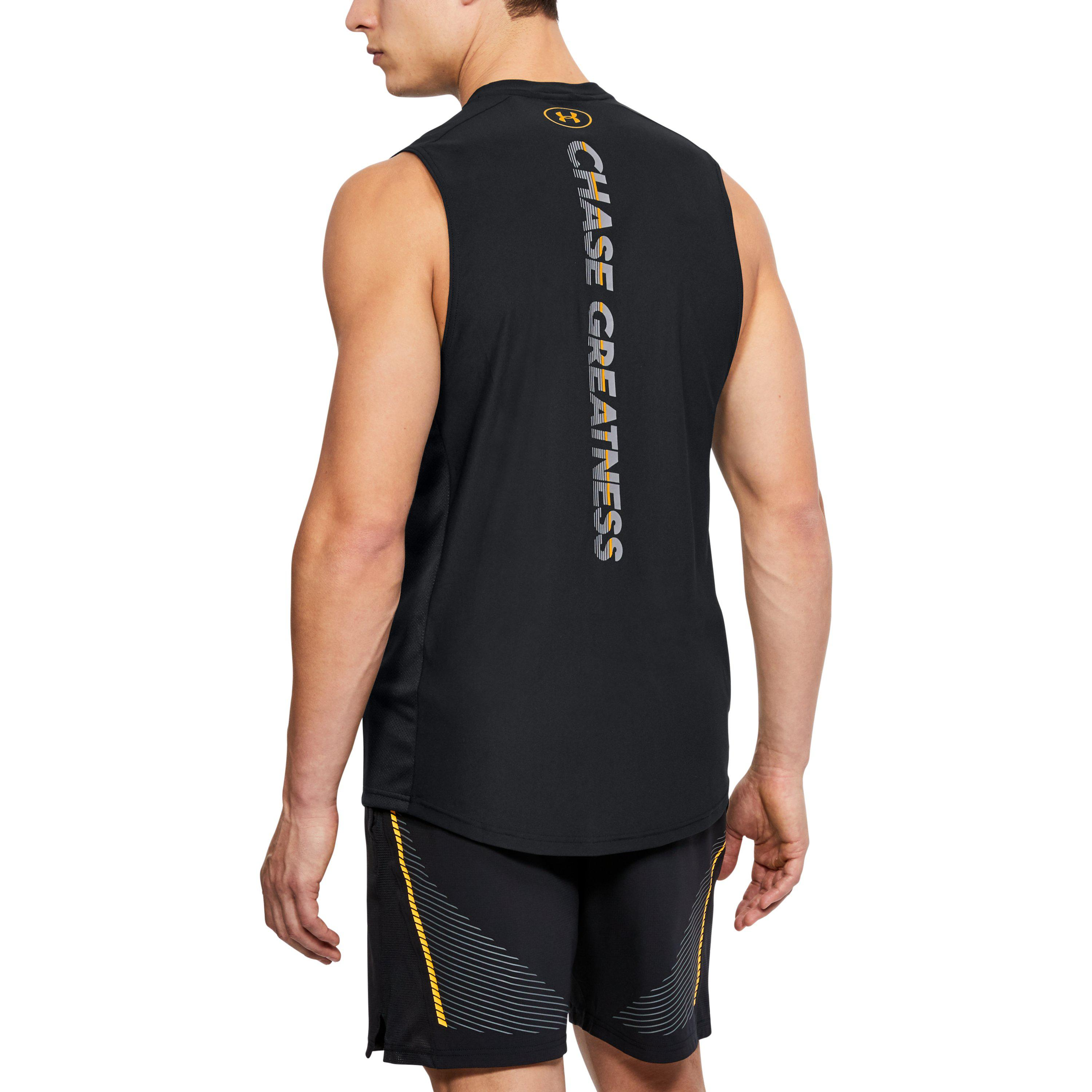 6be091e98ec0e Lyst - Under Armour Men s Ua X Project Rock Vanish Sleeveless in ...