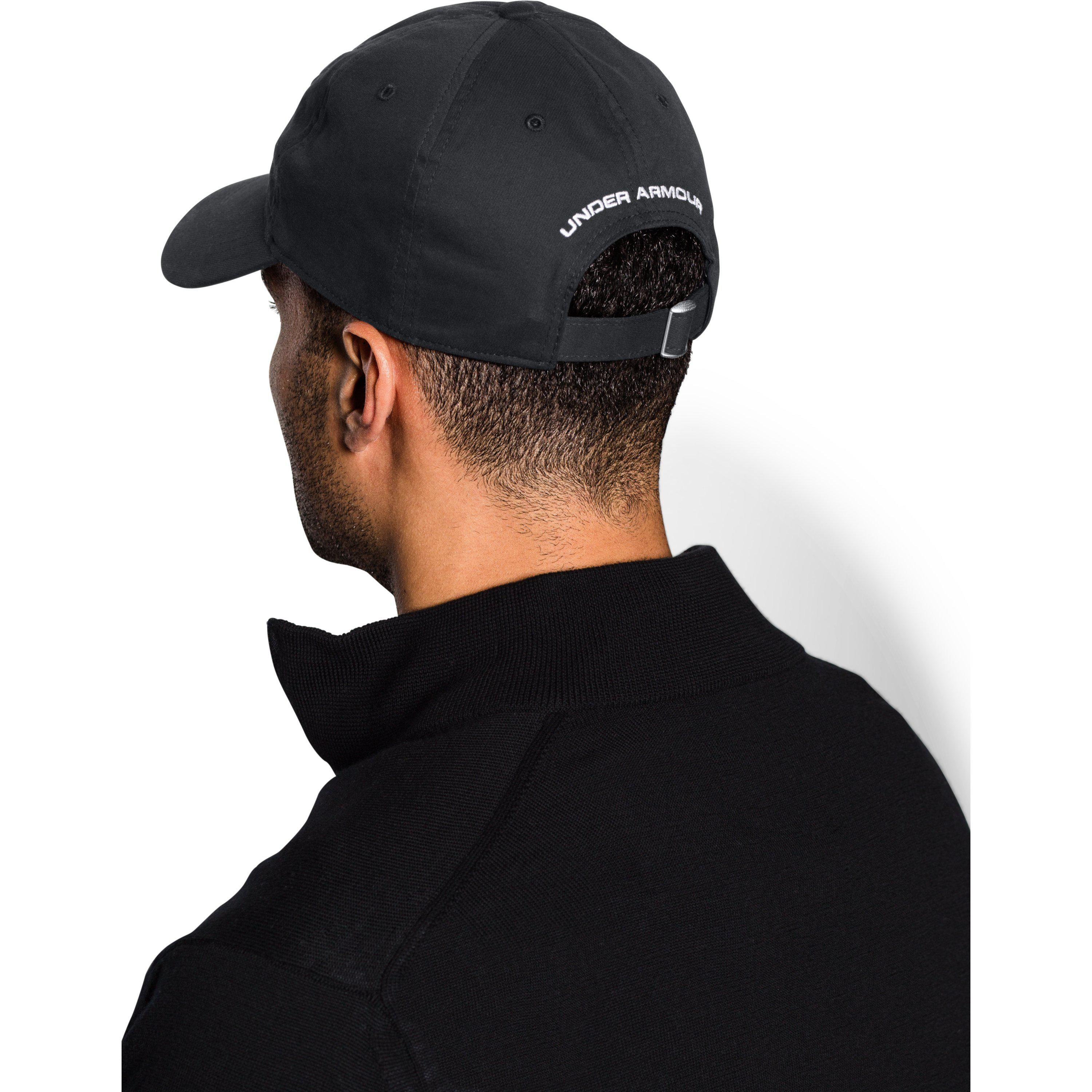 Lyst - Under Armour Chino Cap in Black for Men b338c4271854