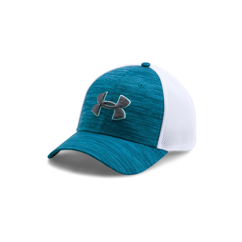 61578aab789 Lyst - Under Armour Men s Ua Golf Mesh Stretch 2.0 Cap in Blue for Men