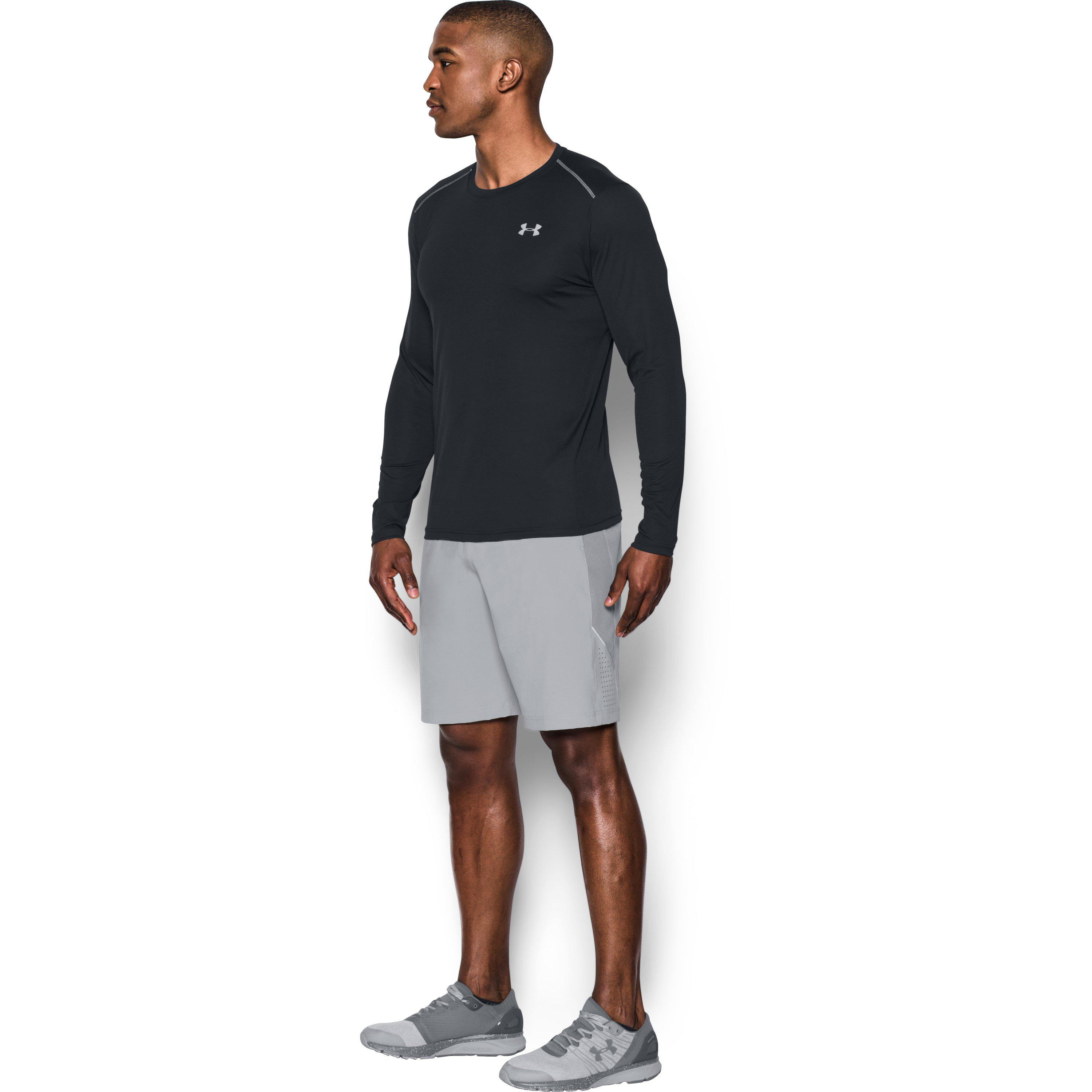 9bac88cc36 Lyst - Under Armour Men's Ua Coolswitch Run Long Sleeve in Black for Men