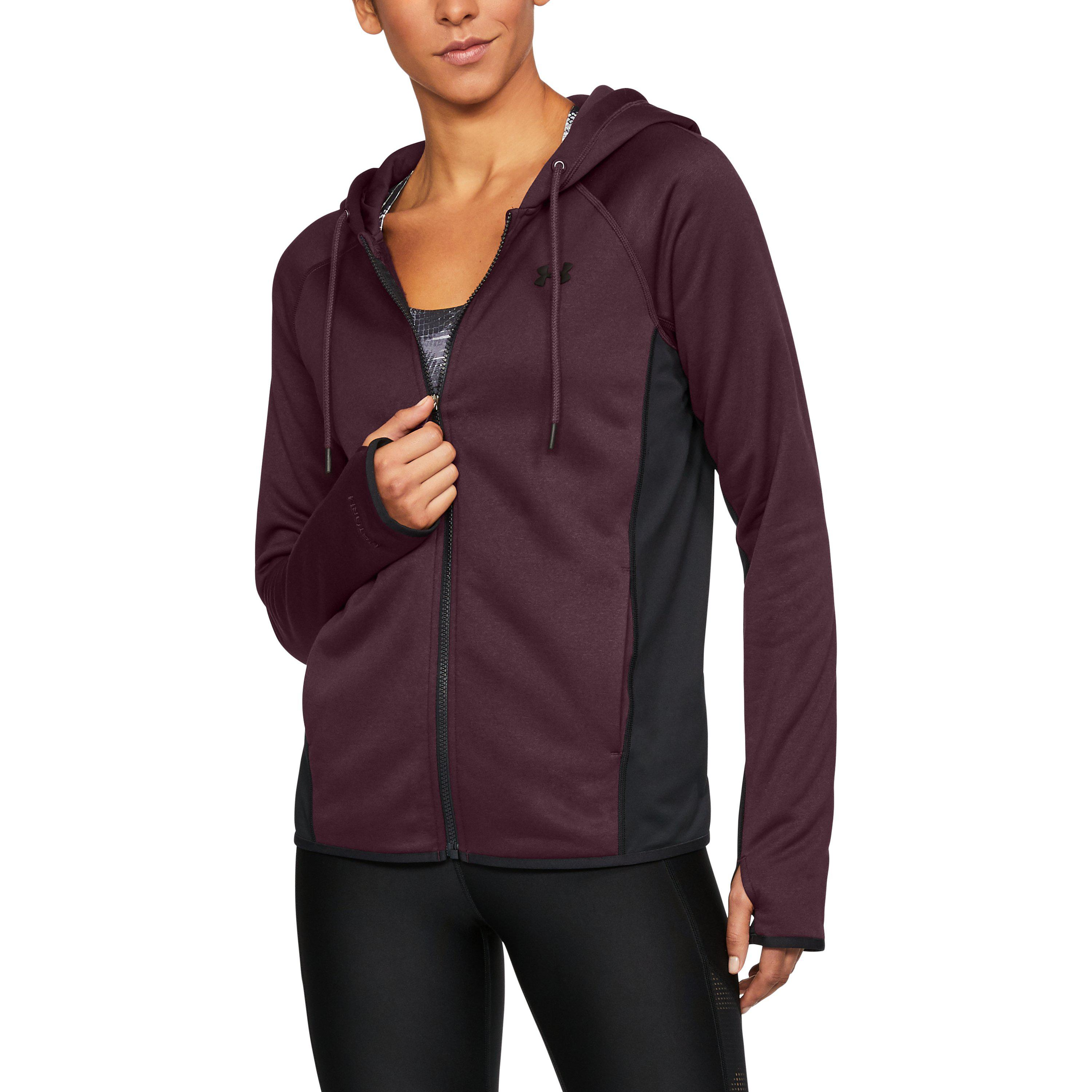 Lyst - Under Armour Women s Ua Storm Armour® Fleece Full Zip Twist ... 097c55e1b4
