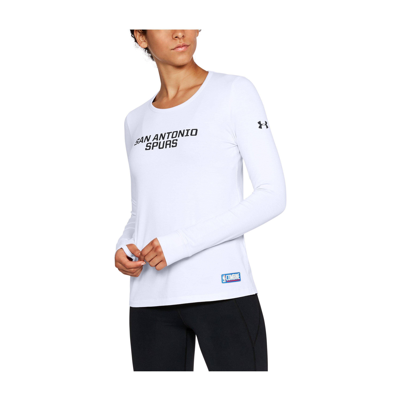 ef2b8246 Lyst - Under Armour Women's Nba Combine Authentic Tonal Wordmark ...