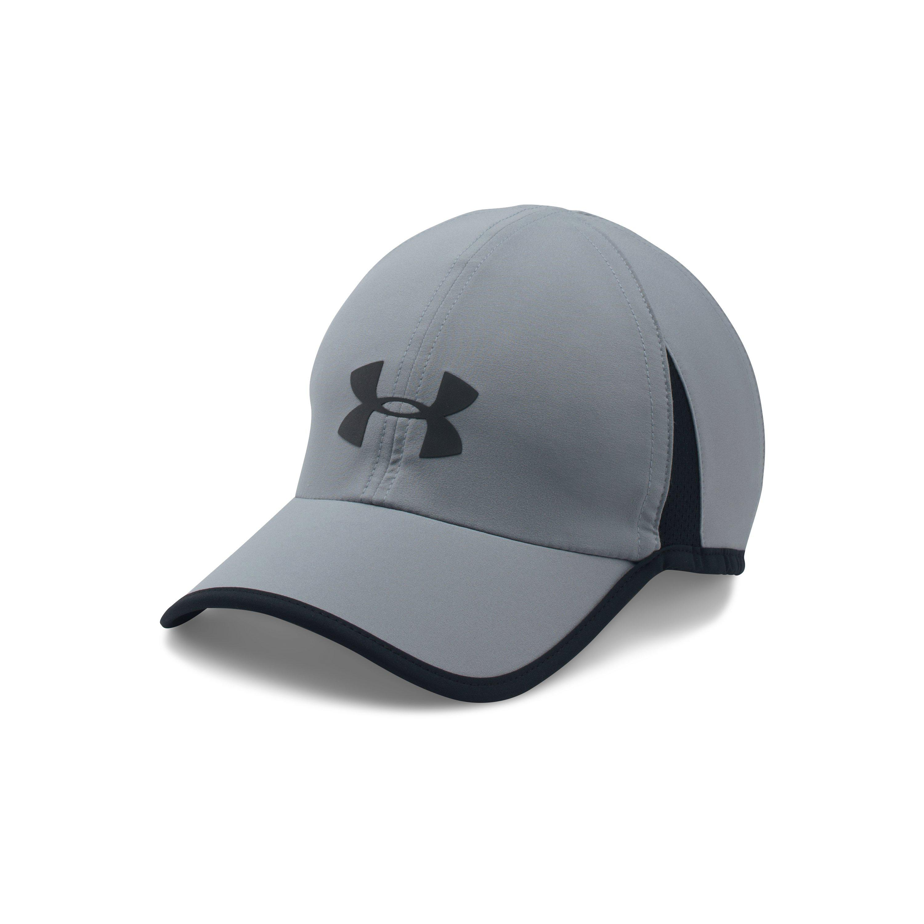 db79a618295 ... low price lyst under armour mens ua shadow 4.0 run cap in gray for men  f046c