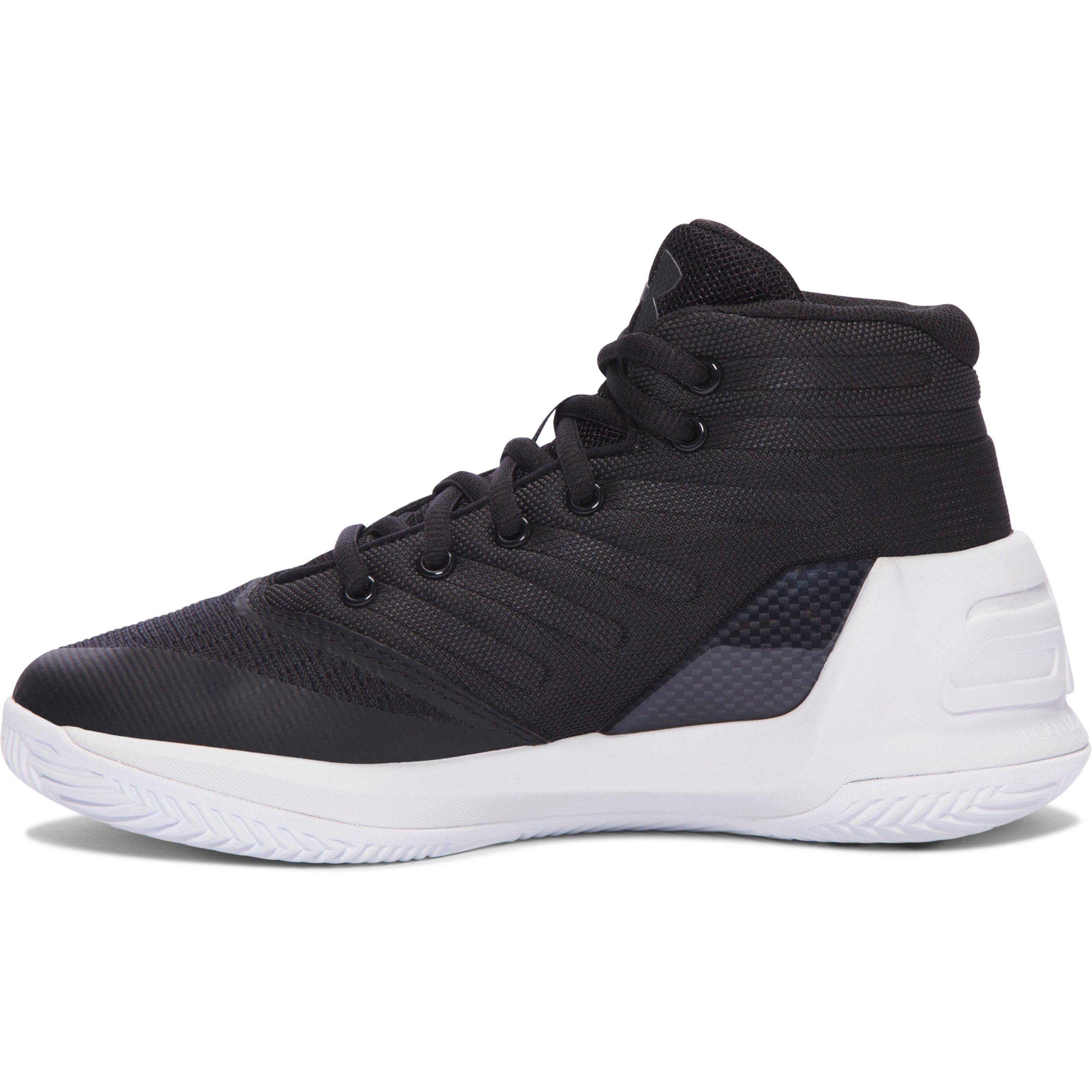 57e0b55bcea Lyst - Under Armour Pre-school Ua Curry 3 Basketball Shoes in Black ...