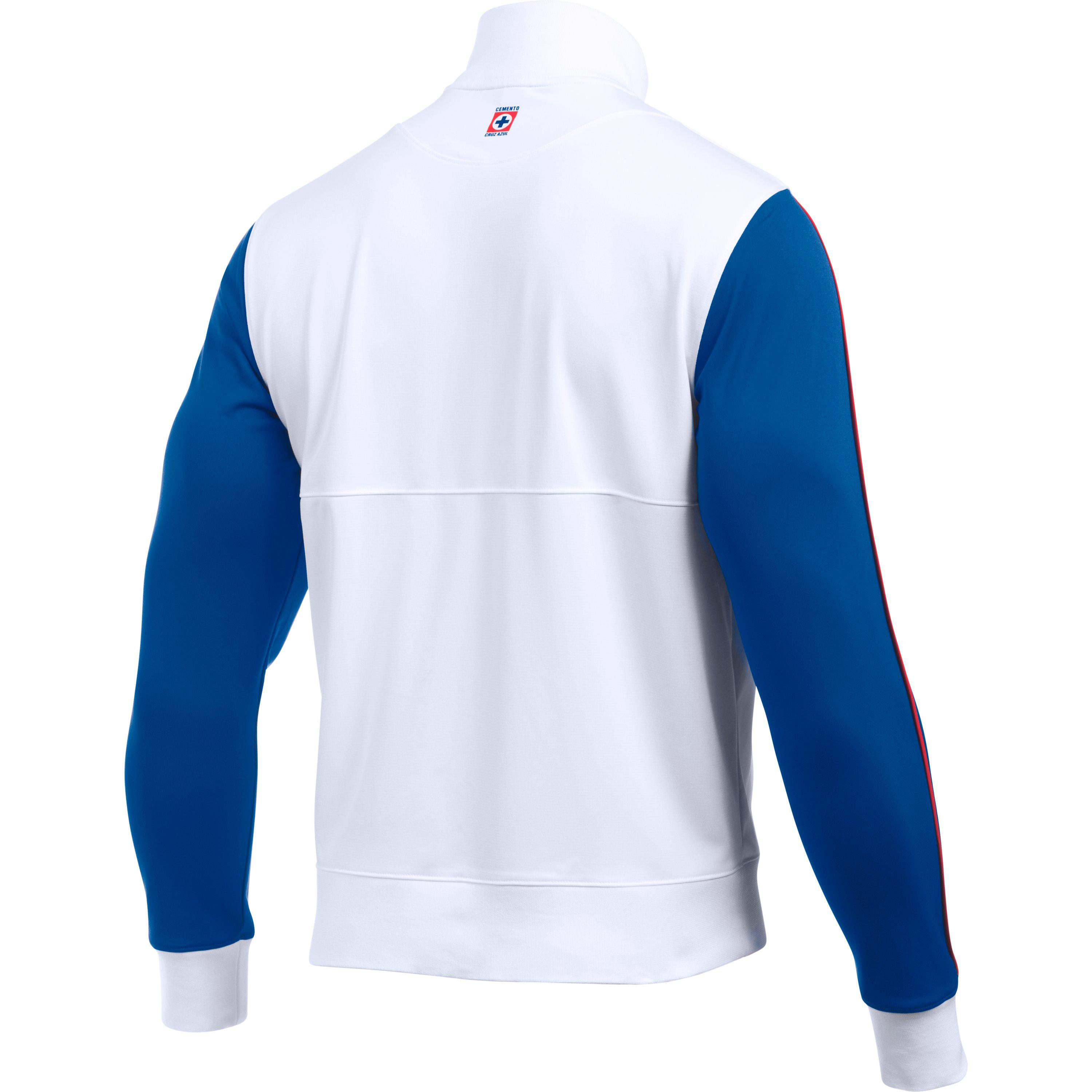 e2edff57222 Under Armour Men s Cruz Azul 16 17 Track Jacket for Men - Lyst