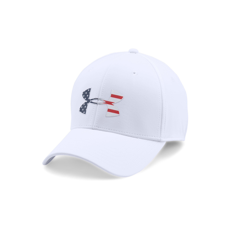 b85d87e9605 ... Men s Ua Freedom Low Crown Strech Fit Cap for Men - Lyst. View  fullscreen