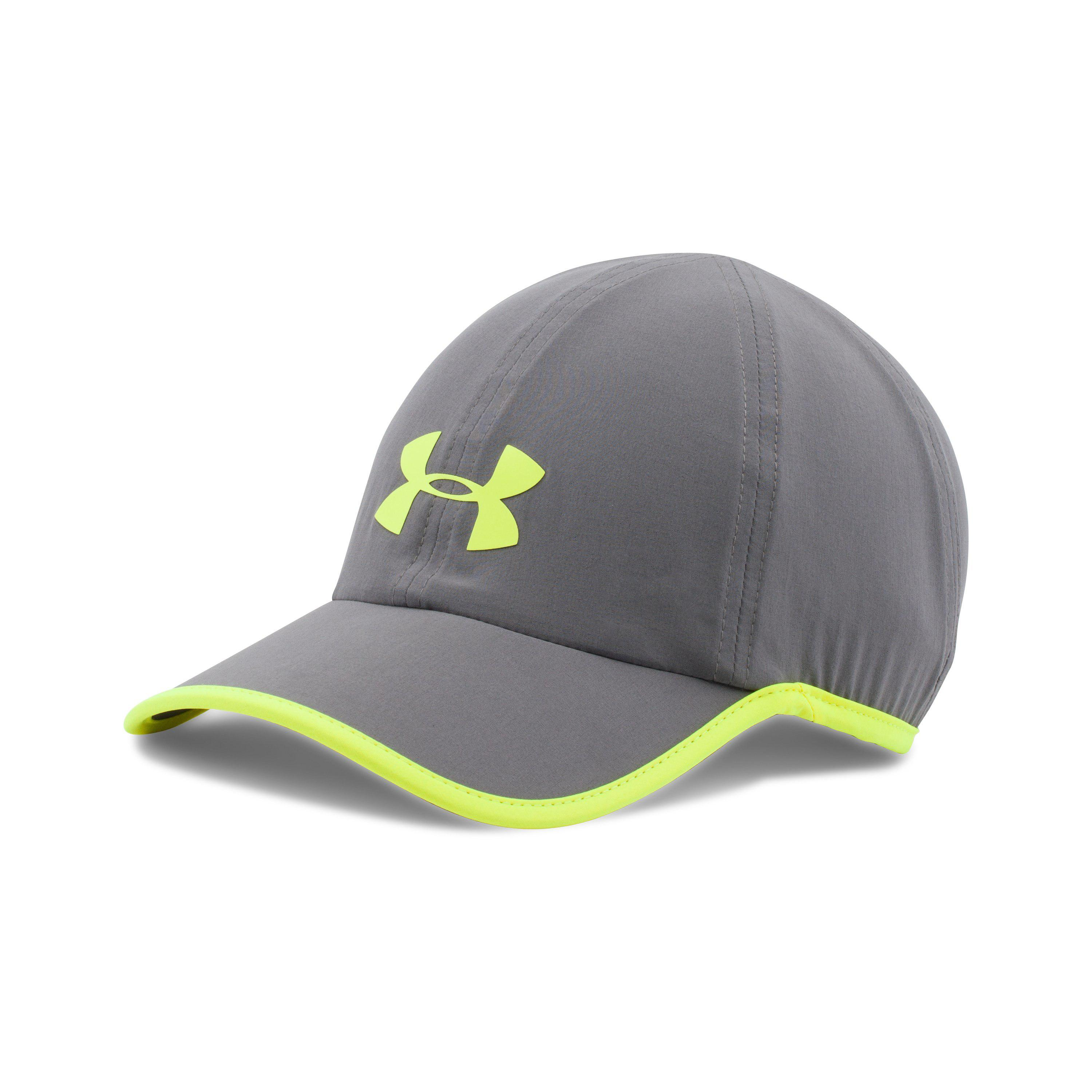 Lyst - Under Armour Men s Ua Run Cap in Gray for Men 36d426c1a