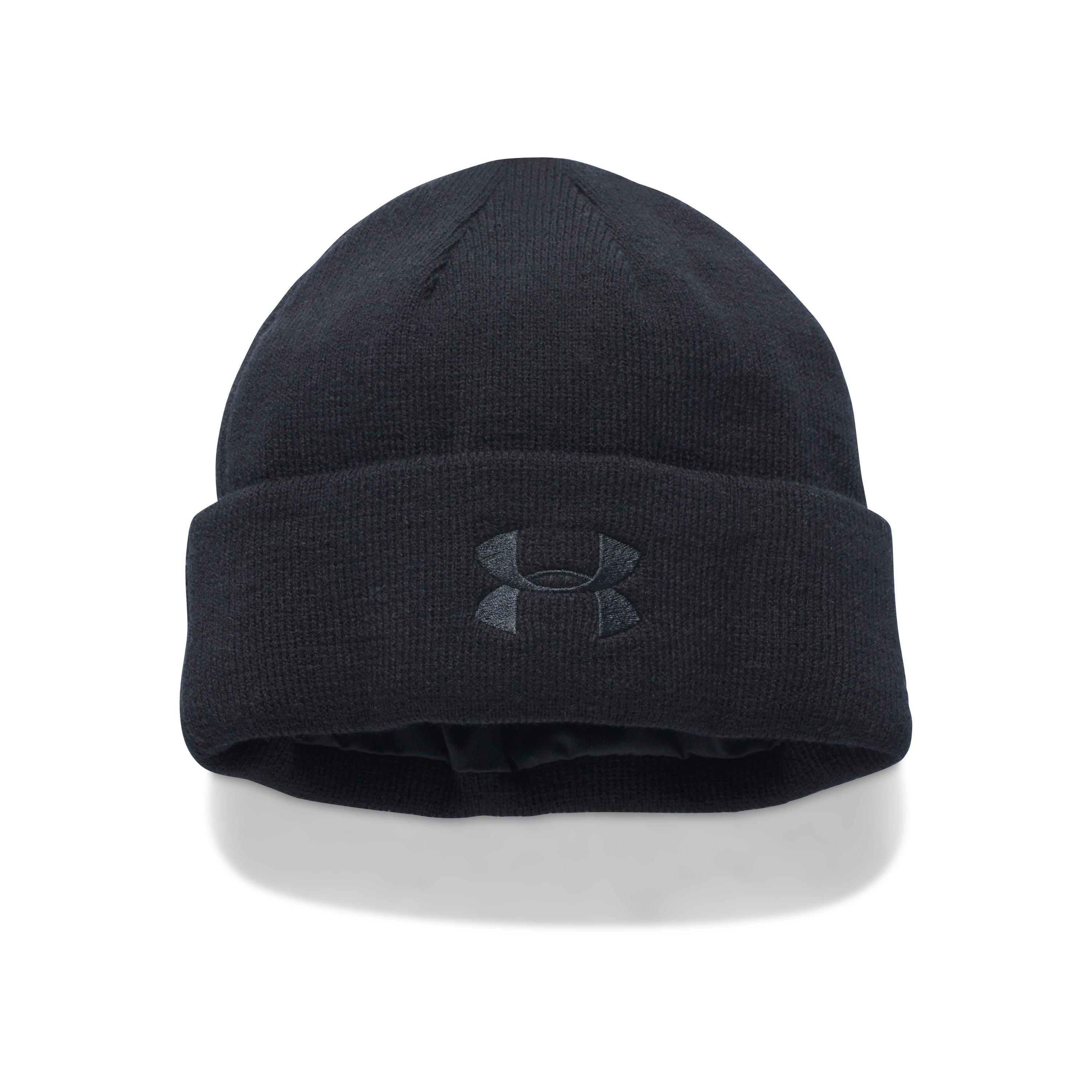 5aa64a8c03c24 ... get lyst under armour mens tactical stealth beanie in black for men  4292d 248ca