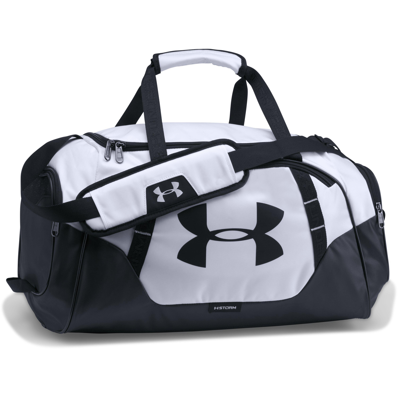 c284be240dca Under Armour - Black Men s Ua Undeniable 3.0 Small Duffle Bag for Men - Lyst