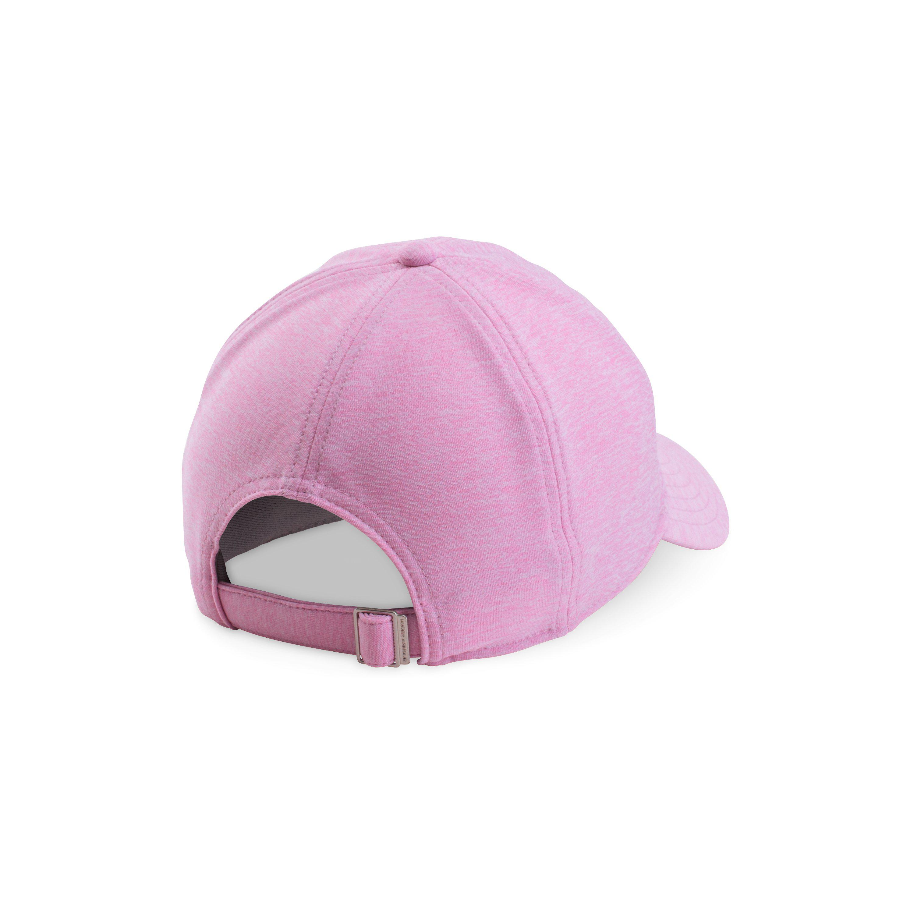 premium selection 441ae a381c Lyst - Under Armour Women s Ua Renegade Twist Cap in Pink
