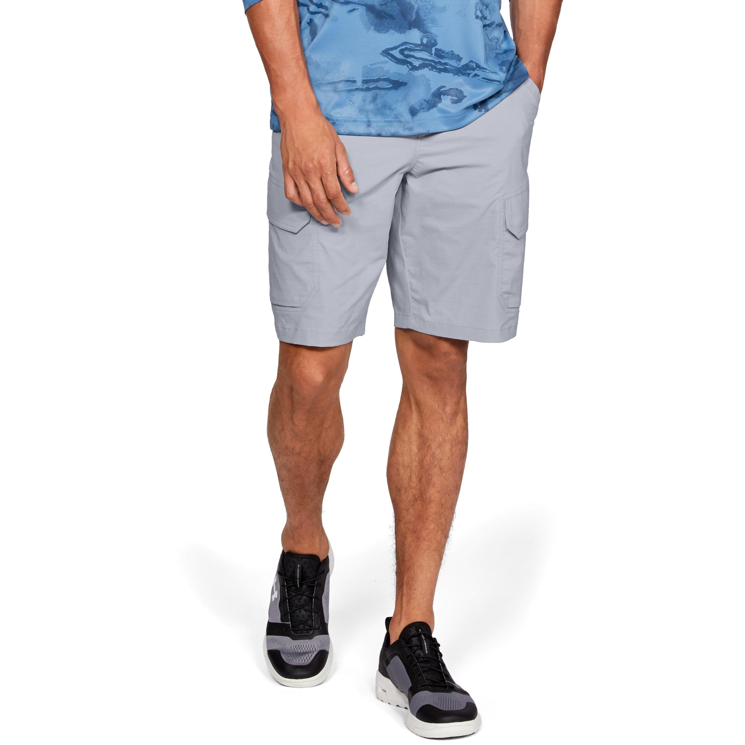 2624fc32ff Lyst - Under Armour Men's Ua Fish Hunter Cargo Shorts in Gray for Men