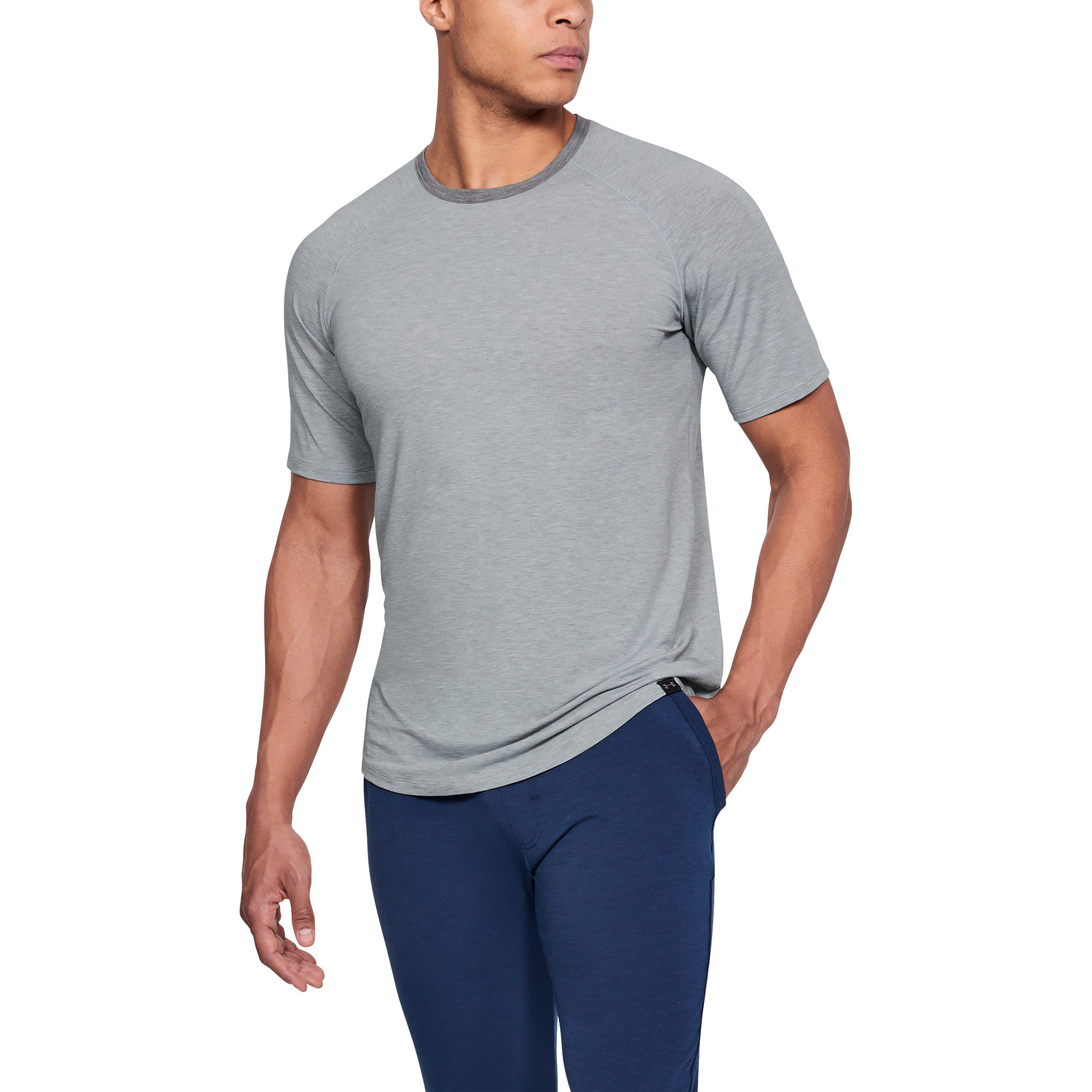 Lyst - Under Armour Men s Athlete Recovery Sleepwear V2 Crew in Gray ... eee7a49a3