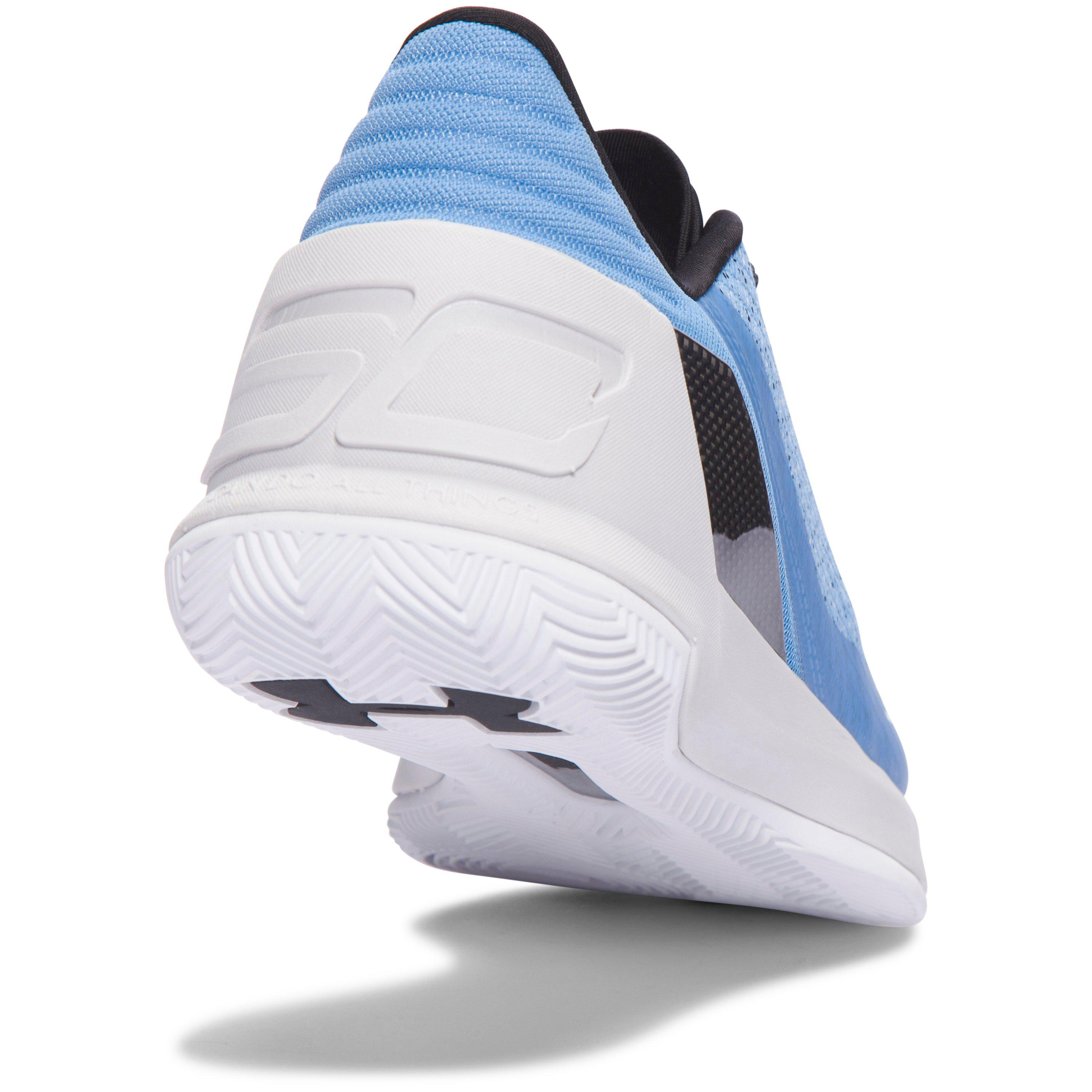 234d496ad1b ... promo code for lyst under armour mens ua curry 3 low basketball shoes  in blue 3c9f2