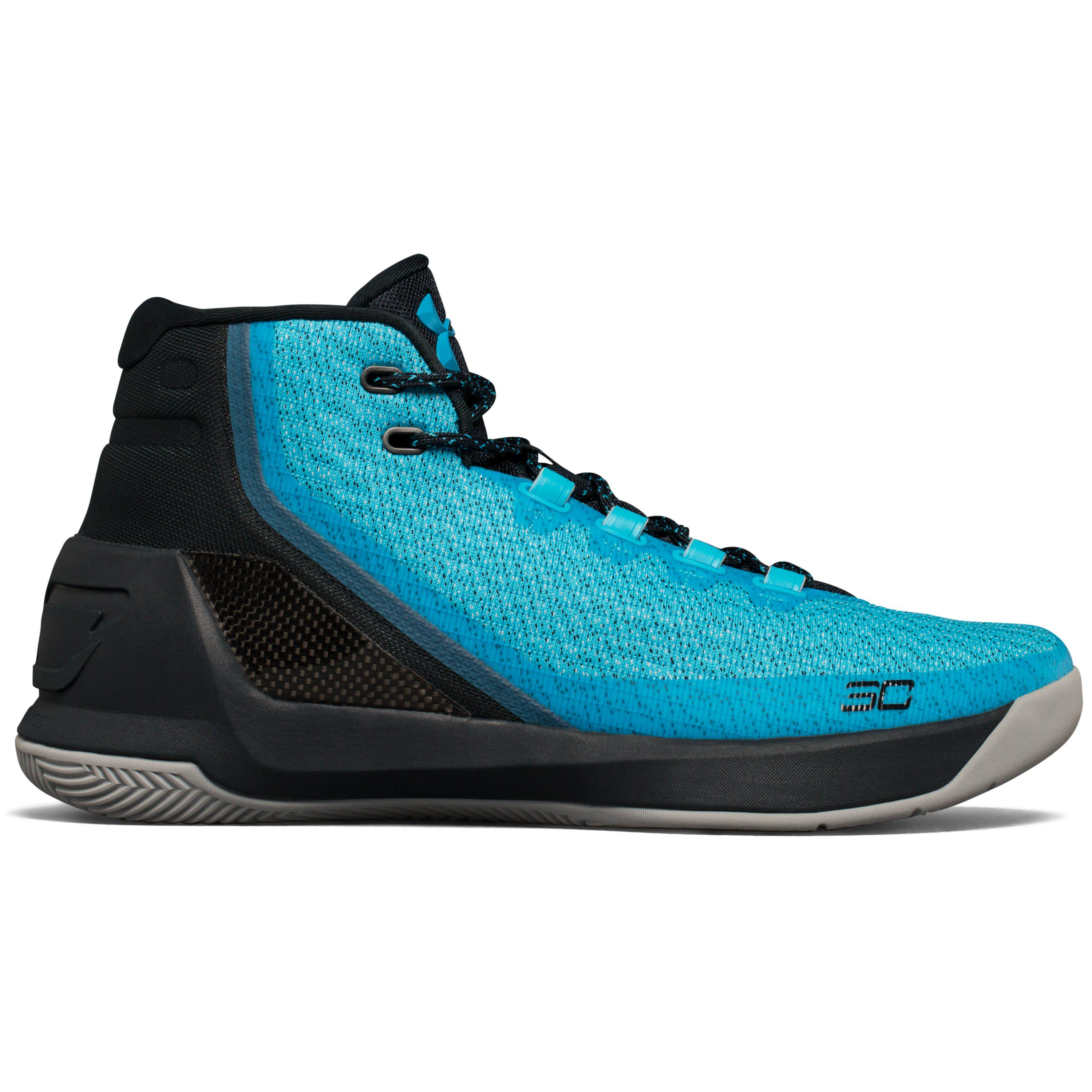 356c4a84e771 Lyst - Under Armour Men s Ua Curry 3 Basketball Shoes in Blue for Men