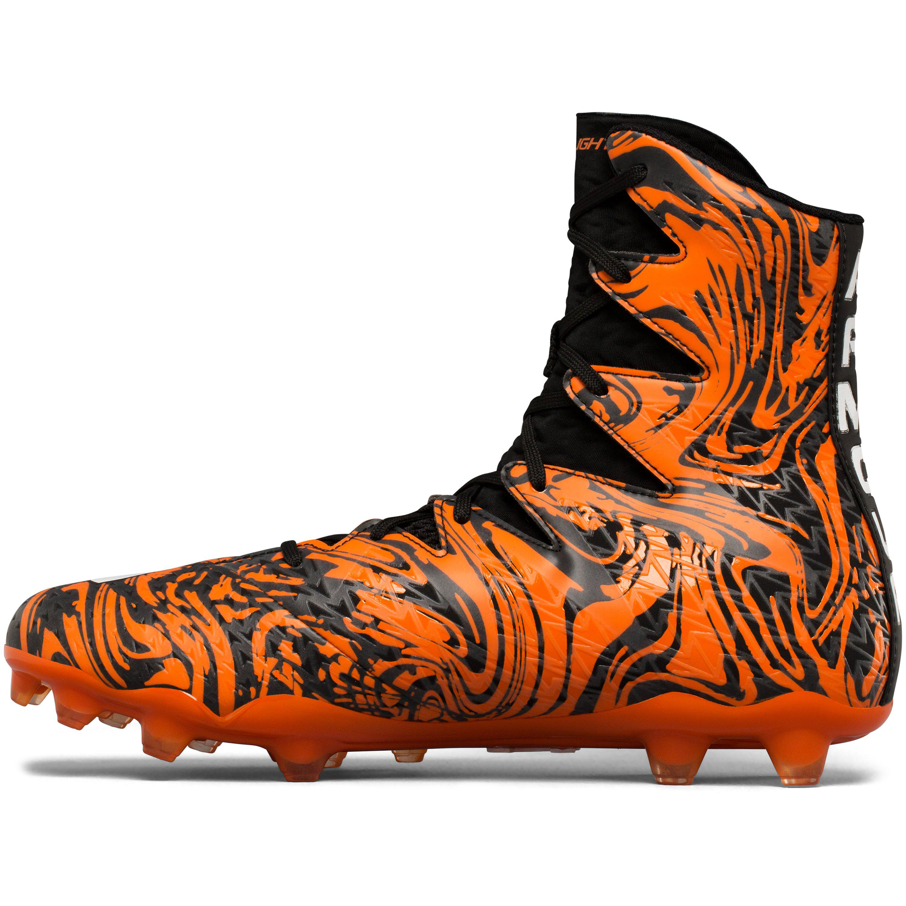 5d1bb9d29 Under Armour Men s Ua Highlight Lux Mc Football Cleats in Orange for ...
