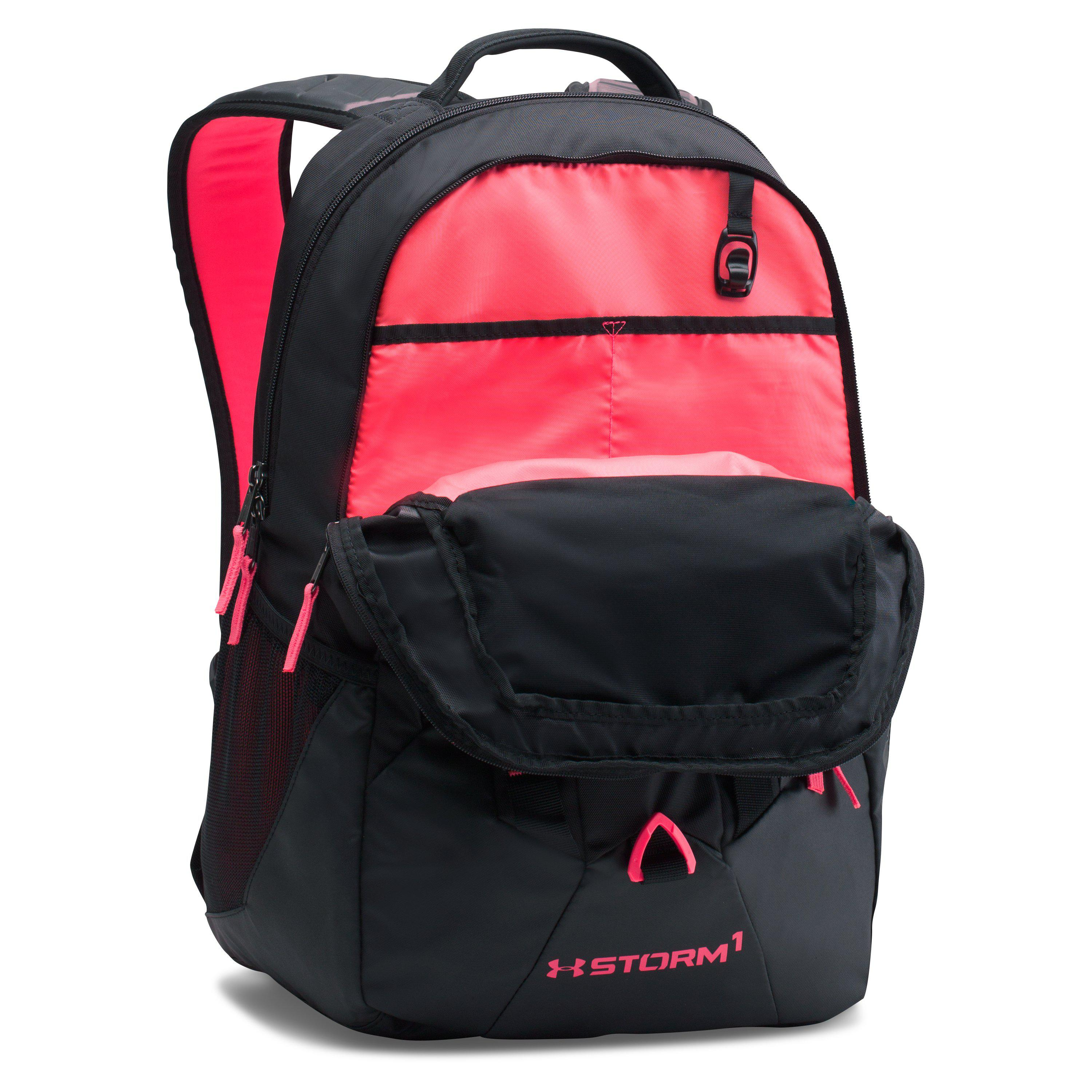 e60a03fbcef2 Lyst - Under Armour Ua Storm Recruit Backpack in Black