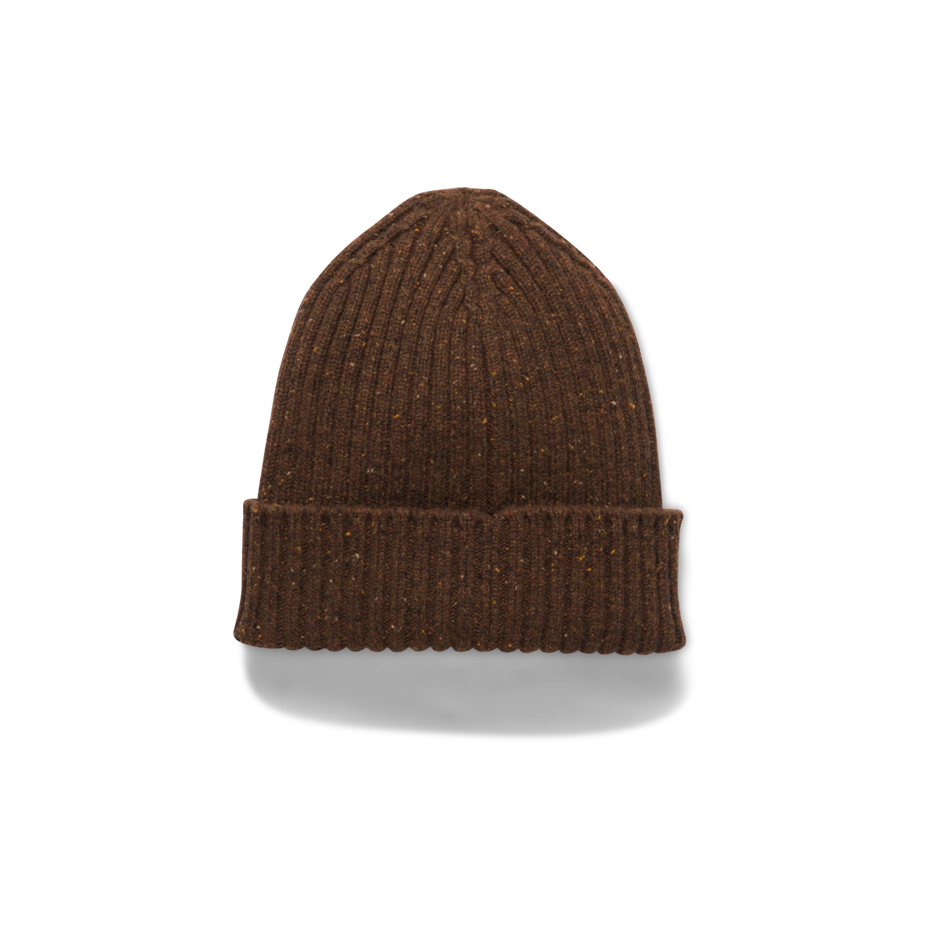 0742a520d0250 Lyst - Under Armour Men s Ua Hunt Wool Beanie in Brown for Men