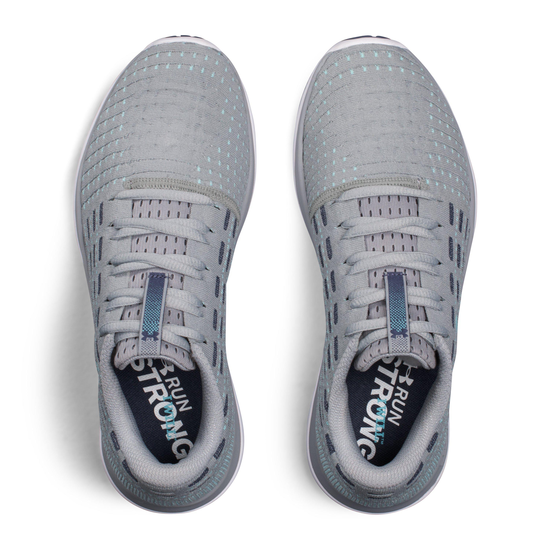 13696a01f Under Armour Women's Ua Threadborne Slingflex Shoes in Gray - Lyst