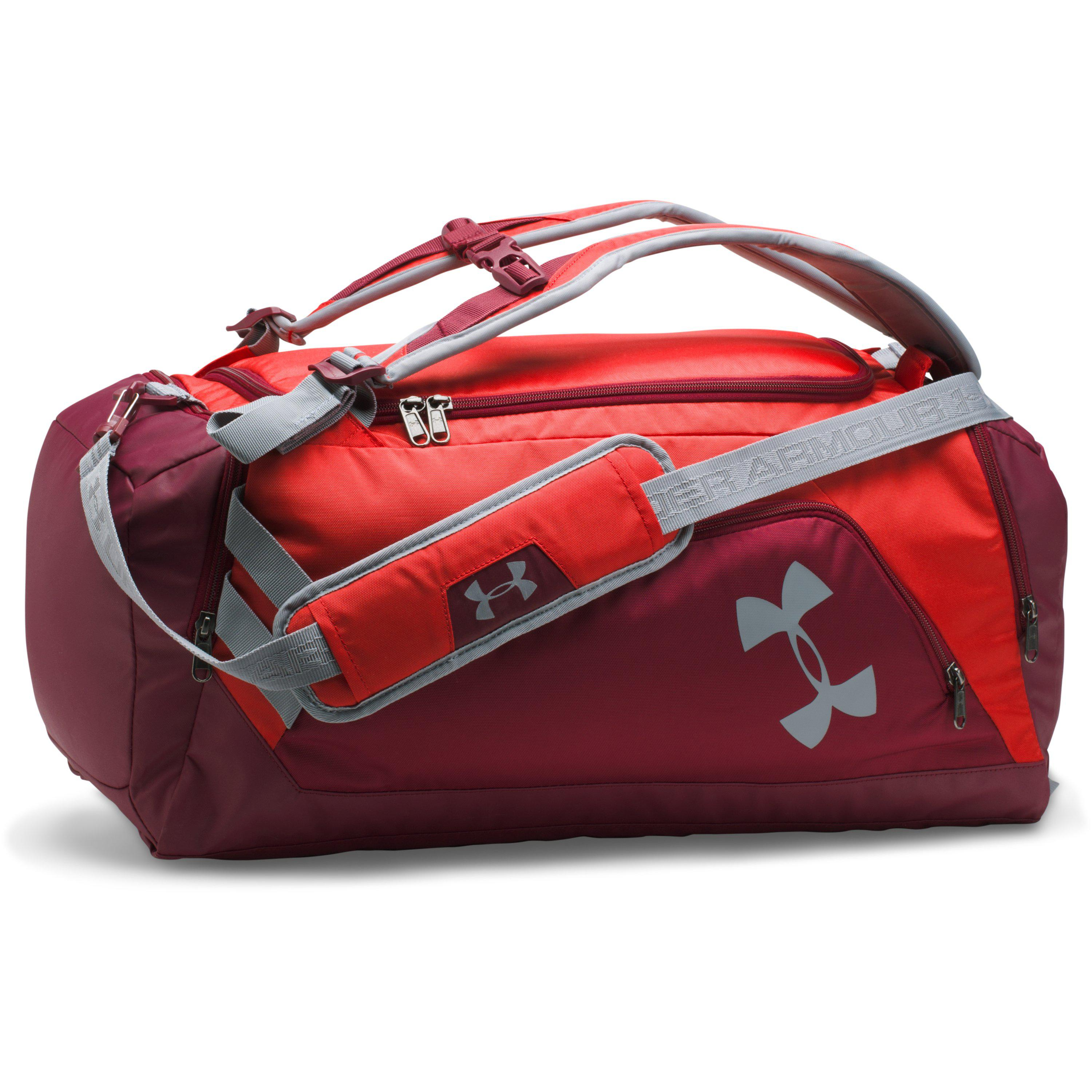 826f64651619 Lyst - Under Armour Ua Storm Undeniable Backpack Duffle – Medium in Red