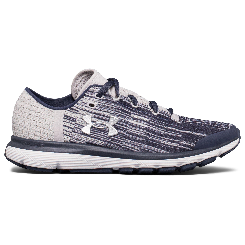 Under Armour THREADBORNE VELOCITI - Neutral running shoes - black/overcast gray/white BRfAhYH9dy
