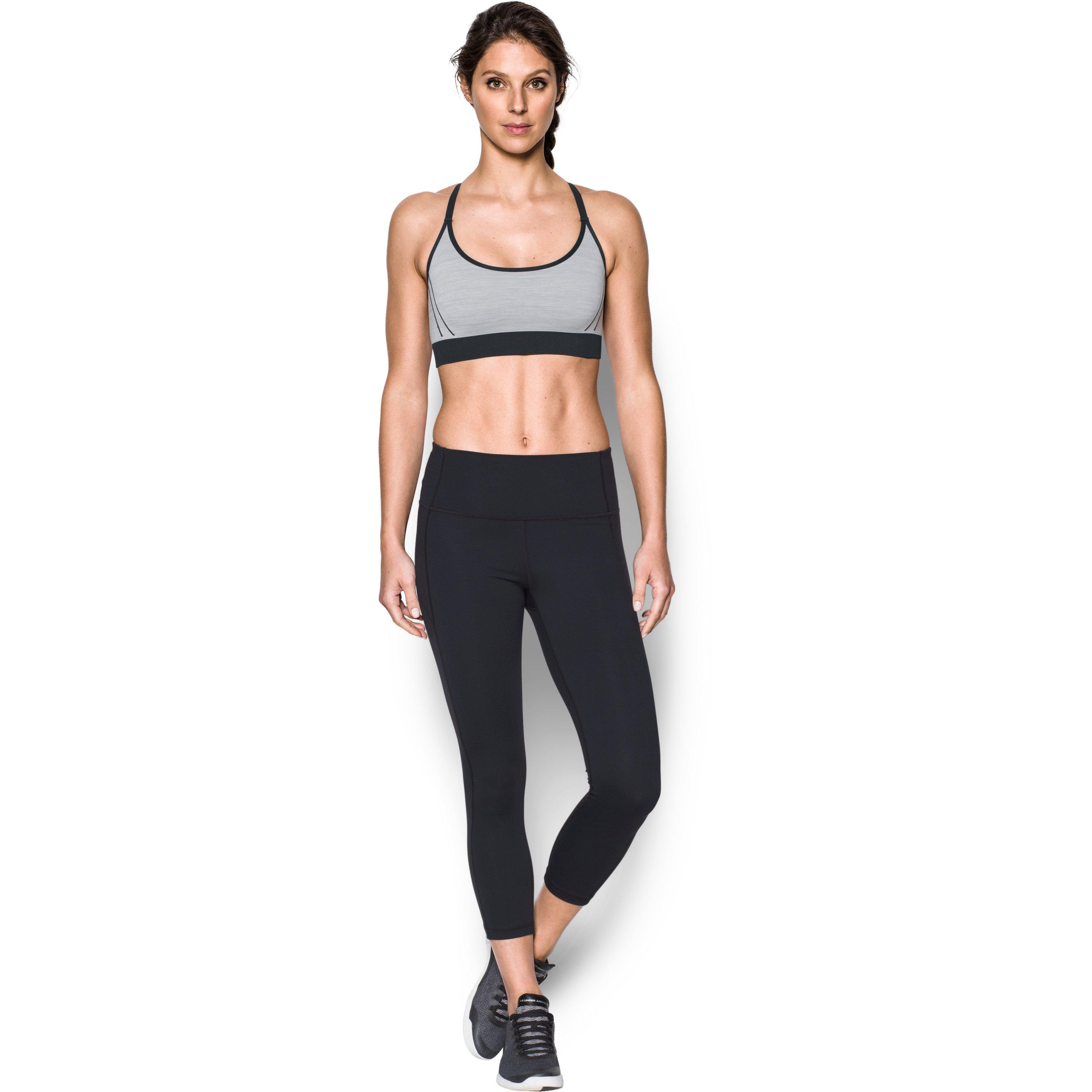 f7c635fa9dd4a Lyst - Under Armour Women s Ua Threadbornetm Seamless Low Pop Sports ...