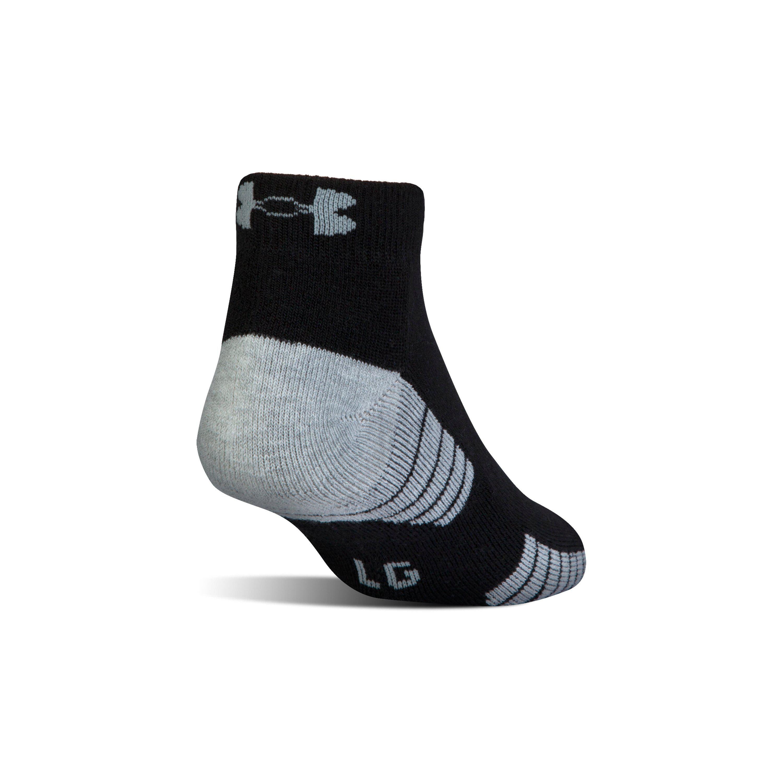 6960cc718 Under Armour Heatgear Tech Lo Cut Socks 3-pack in Black for Men - Lyst
