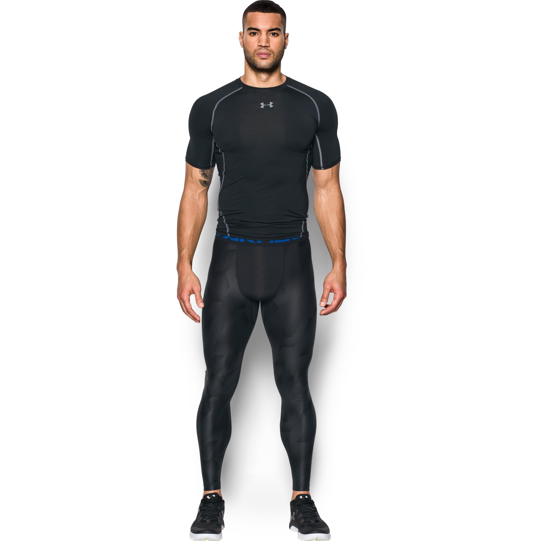 472811f567cb3 Under Armour Men's Heatgear® Armour Printed Compression Leggings in ...