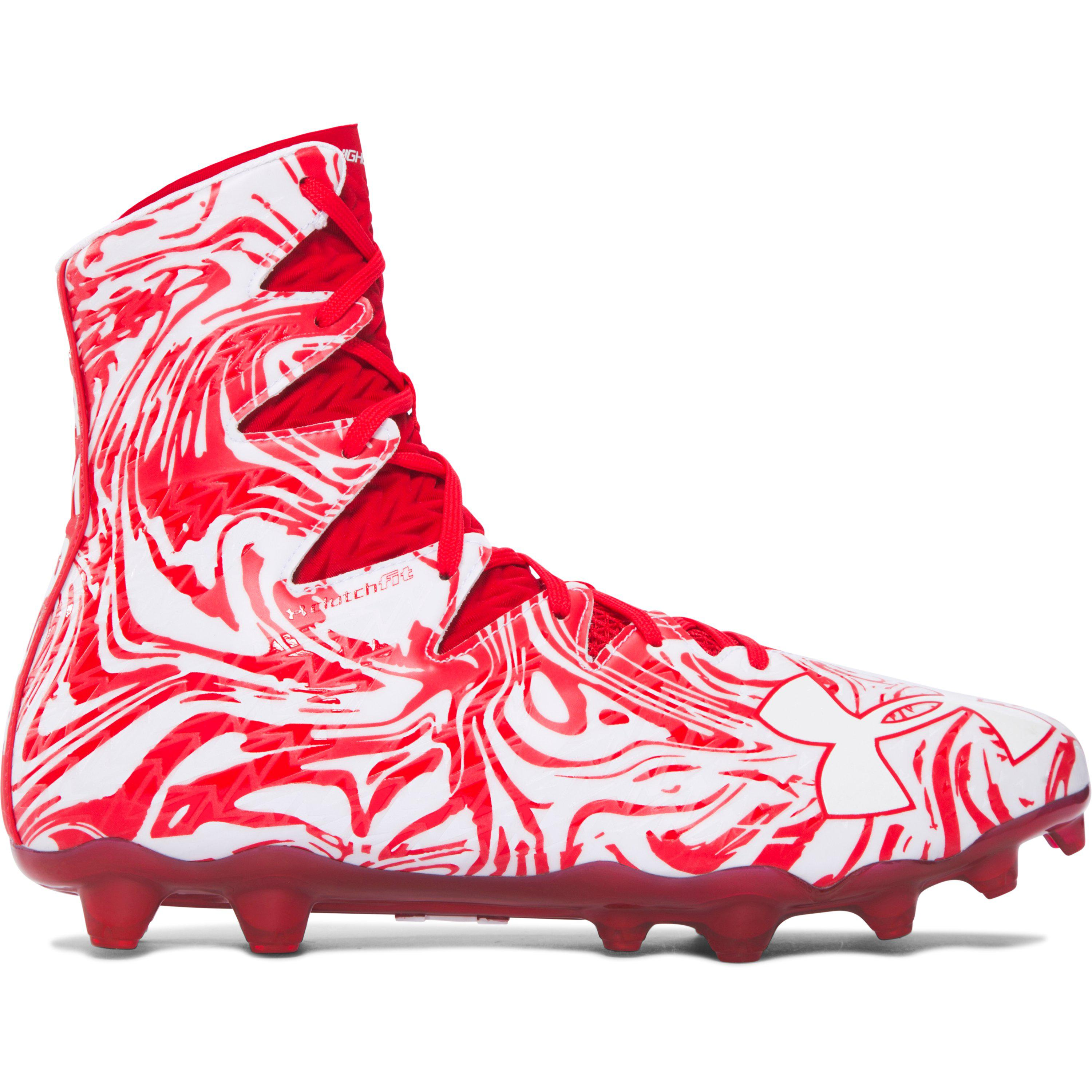 5b23c6f87 Under Armour Men s Ua Highlight Lux Mc Football Cleats in Red for ...