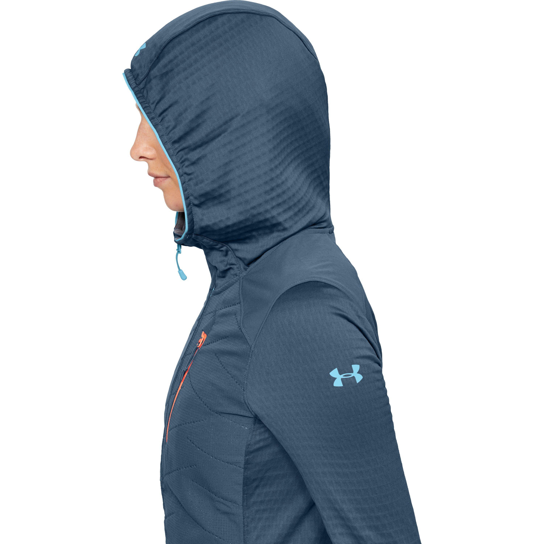 d2255085 Under Armour Women's Coldgear® Reactor Exert Jacket in Blue - Lyst