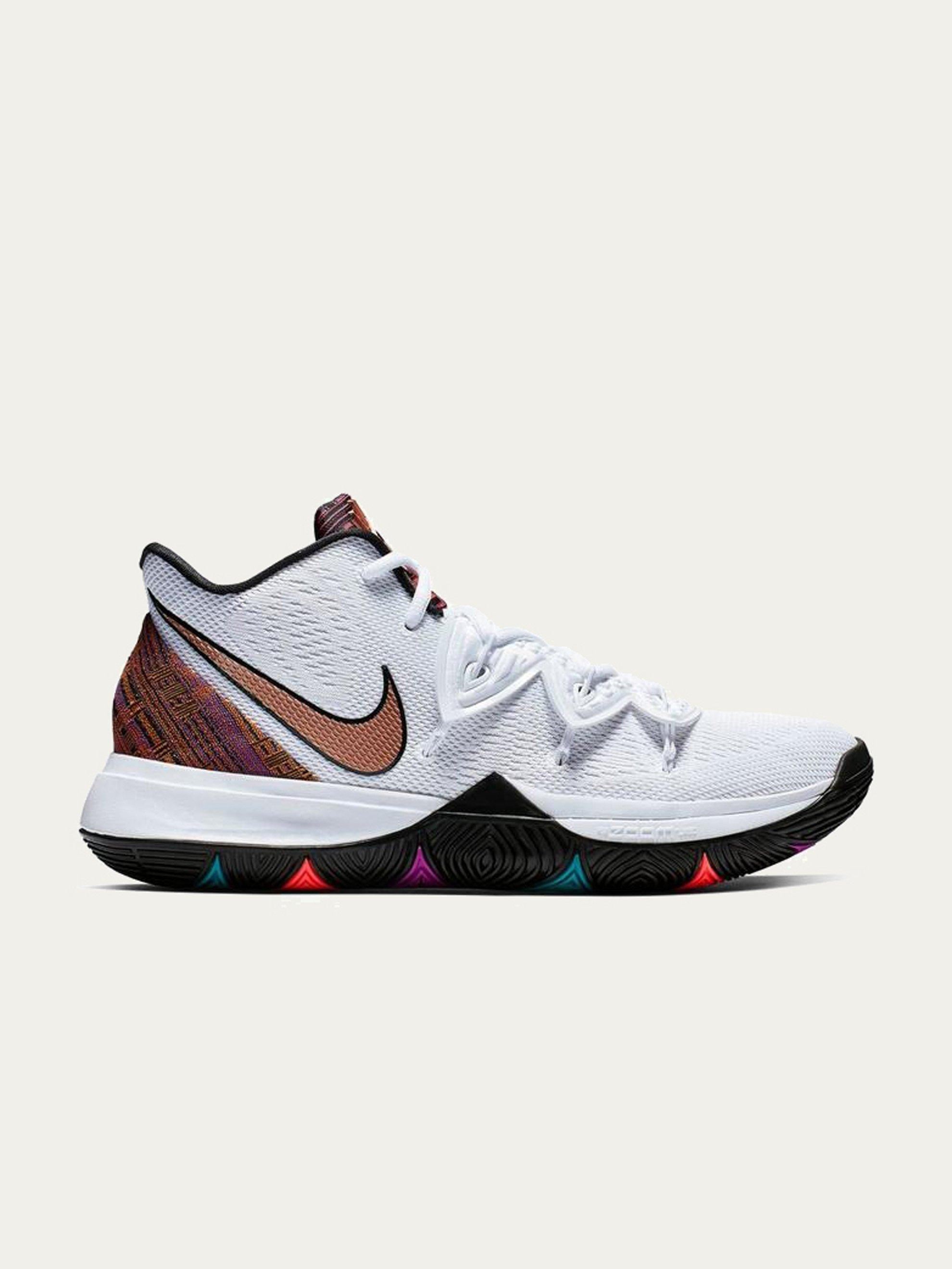8c43c750ec96 Nike Kyrie 5 Bhm in White for Men - Lyst