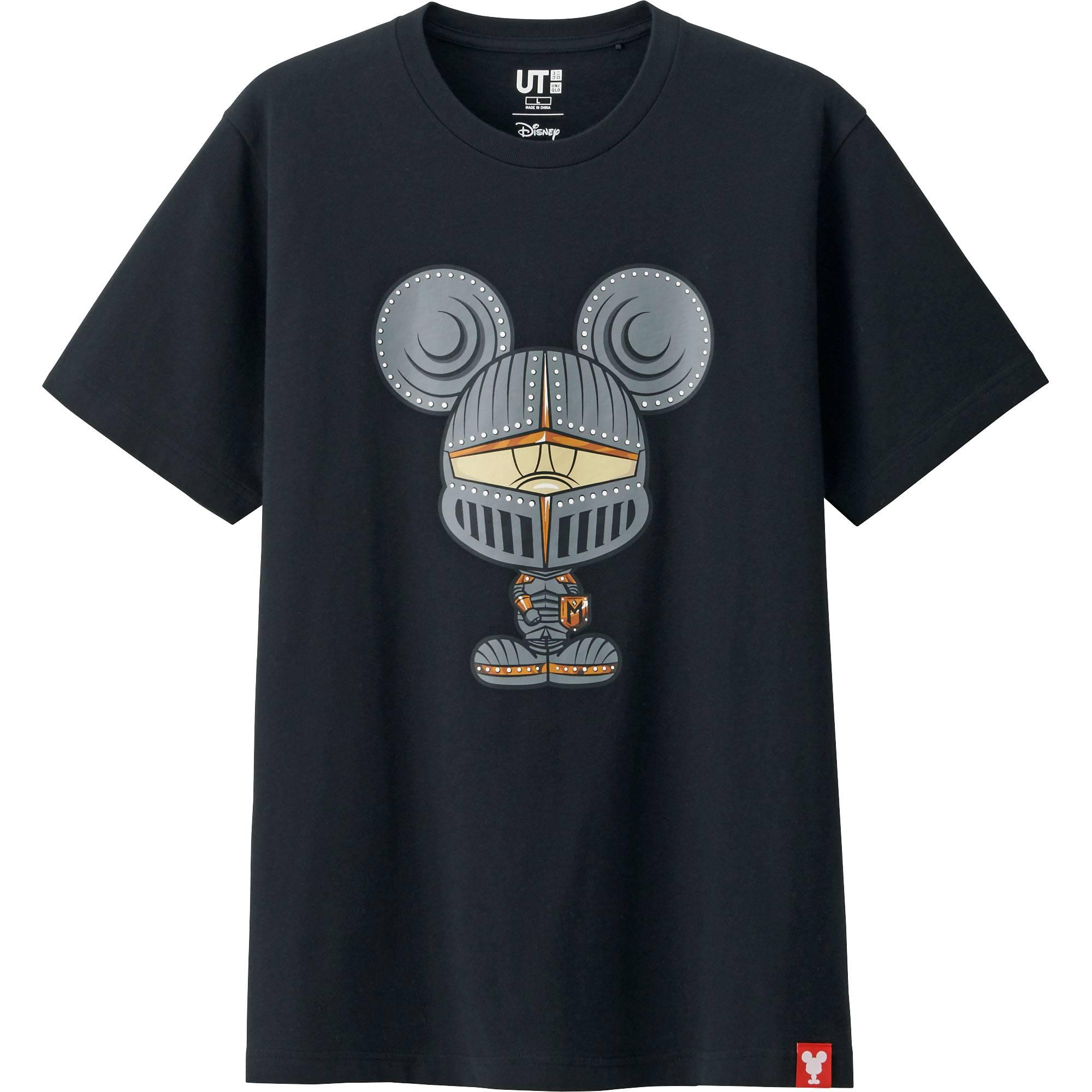 Lyst Uniqlo Men Mickey 100 Short Sleeve Graphic T Shirt