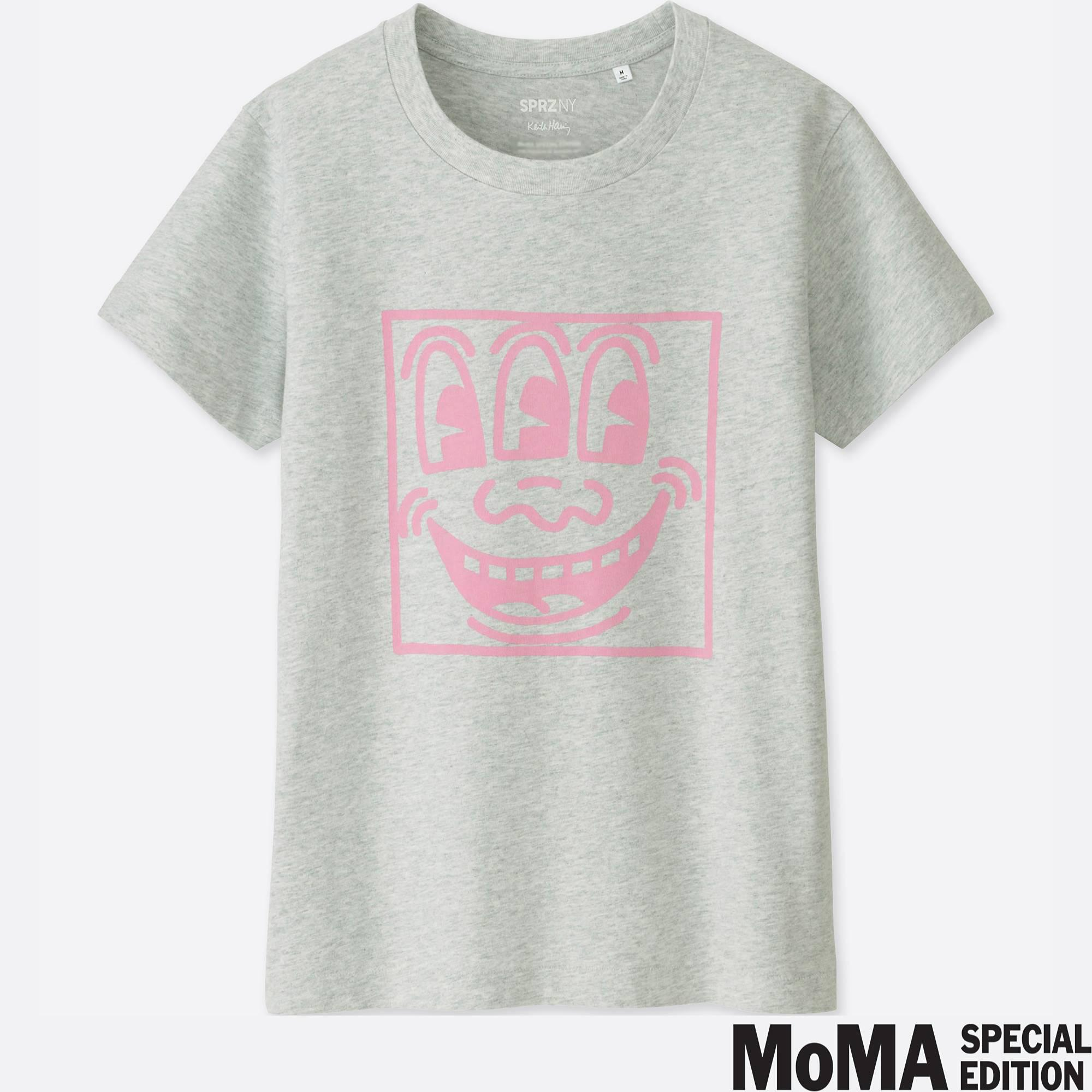 e5a9086b Lyst - Uniqlo Sprz Ny Graphic T-shirt (keith Haring) in Gray