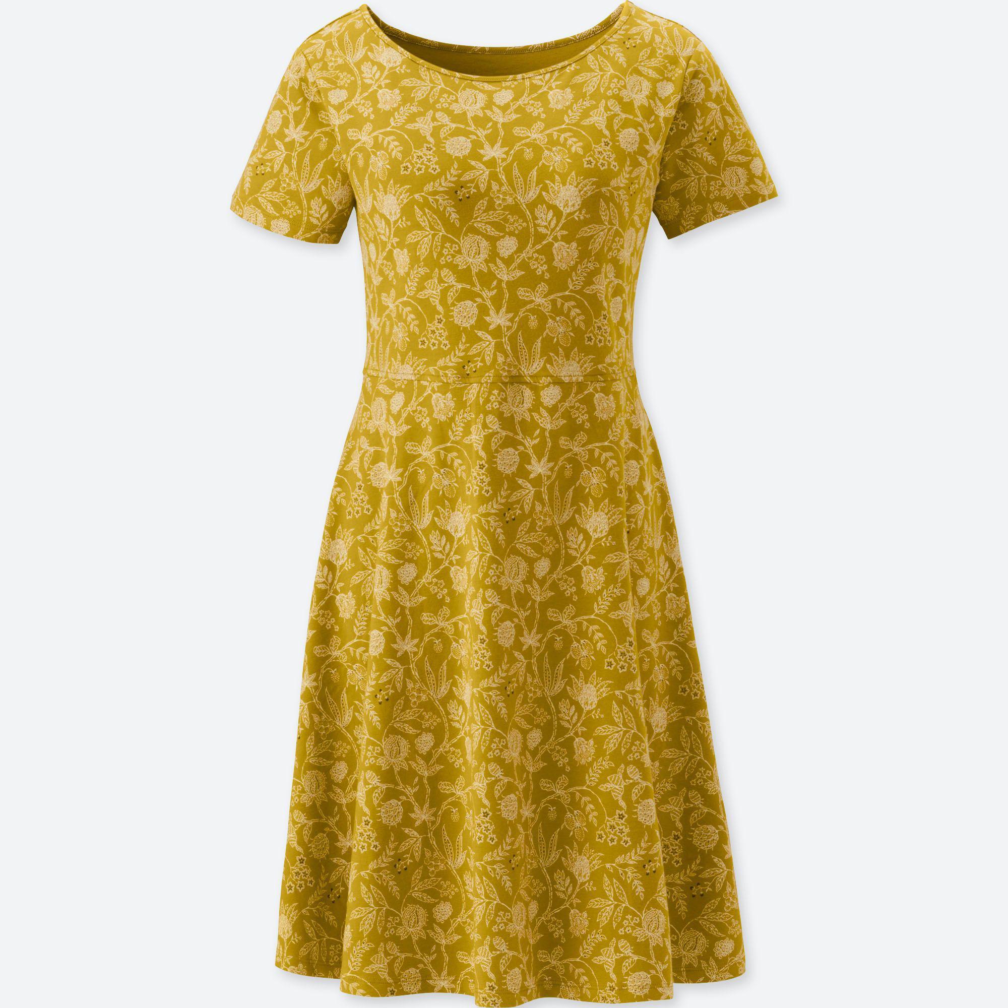daaa1a9570 Uniqlo Women Studio Sanderson For Short-sleeve Bra Dress (online ...