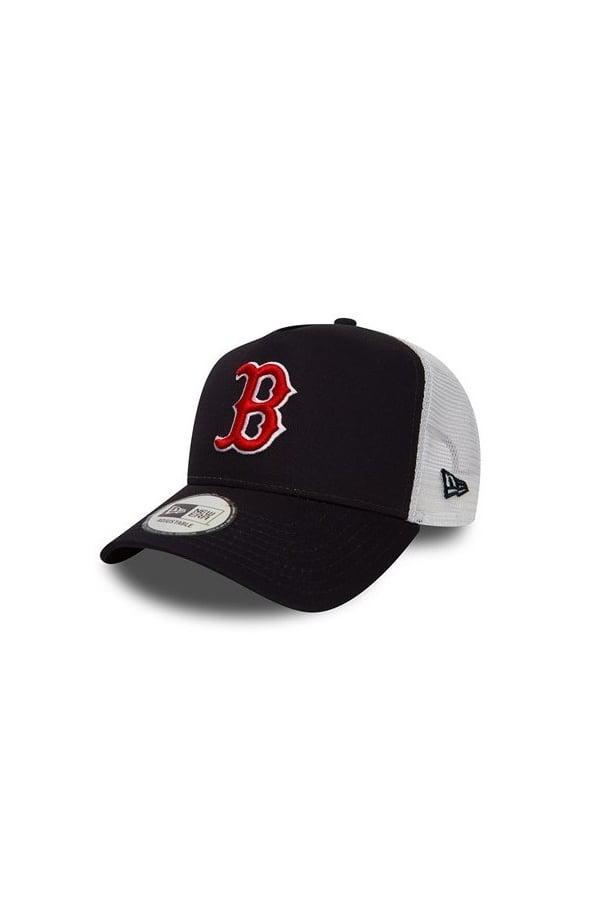 b8364a7e3b075a Lyst - KTZ Boston Red Sox Essential A Frame Trucker in Blue for Men