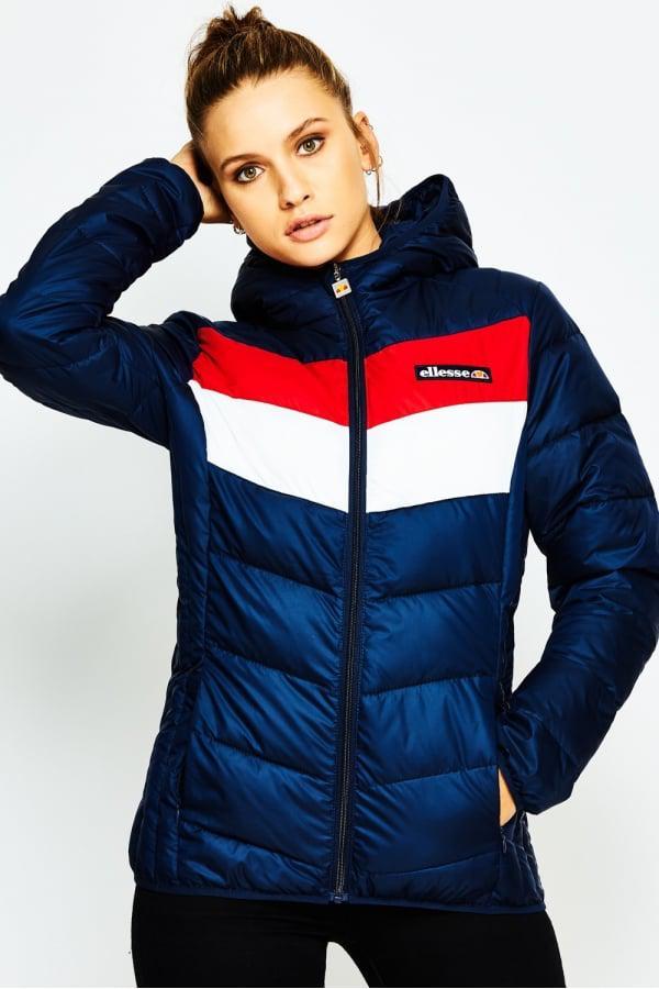 Ellesse Women S Ginette Jacket In Blue Lyst