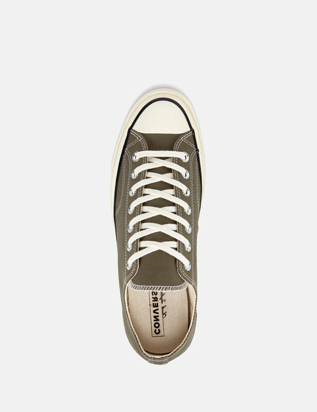 7fd289c8bf1f7f Lyst - Converse 70 s Chuck Low 162060c (canvas) in Green for Men