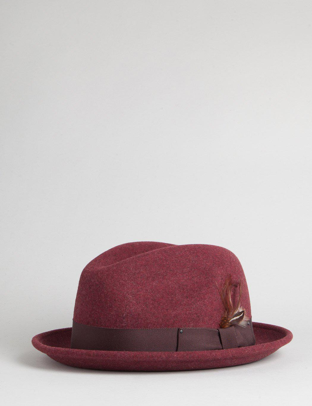 b787f57033434 Bailey of Hollywood Bailey Tino Trilby Hat for Men - Lyst