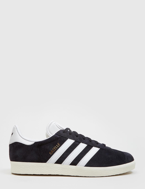 jak kupić sklep internetowy sportowa odzież sportowa adidas Originals Gazelle Black Suede Trainers in Black for ...
