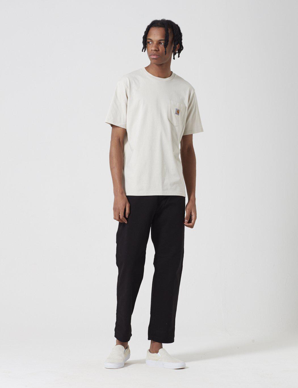444598ac Carhartt - Natural Pocket T-shirt for Men - Lyst. View fullscreen