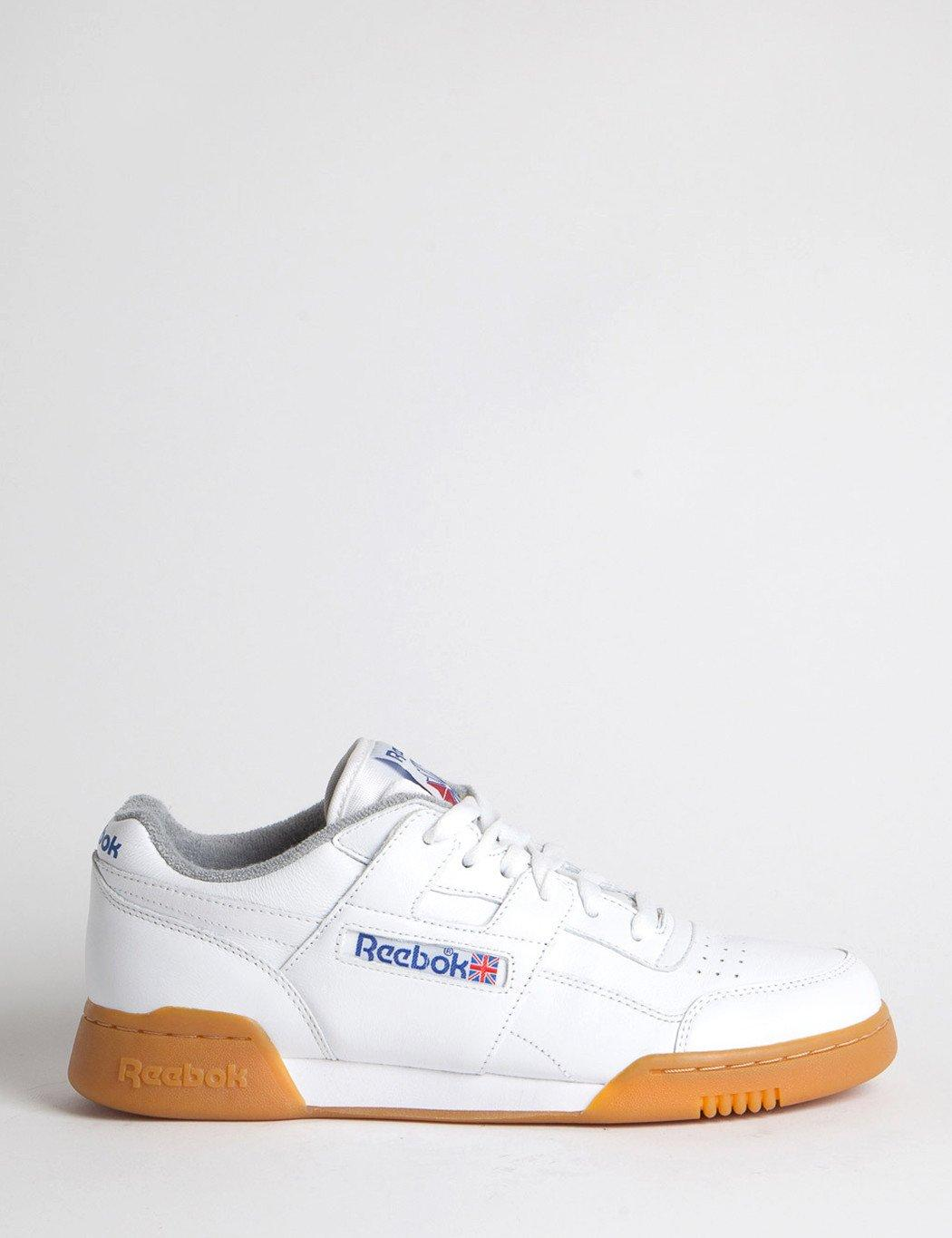 04d6f5a07976 Lyst - Reebok Workout Plus R12 Gum (m45031) in White for Men