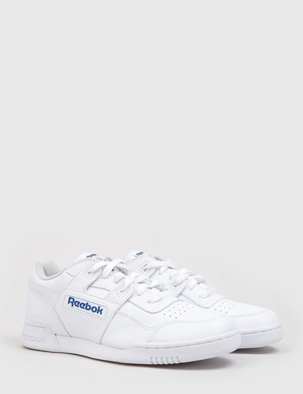 Reebok Workout Plus (2759) in White for Men - Lyst 09691b506