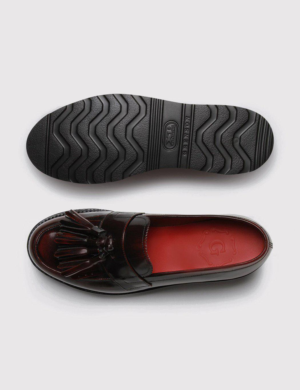 4325301ccd0 Grenson Womens Clara Loafer in Black for Men - Lyst