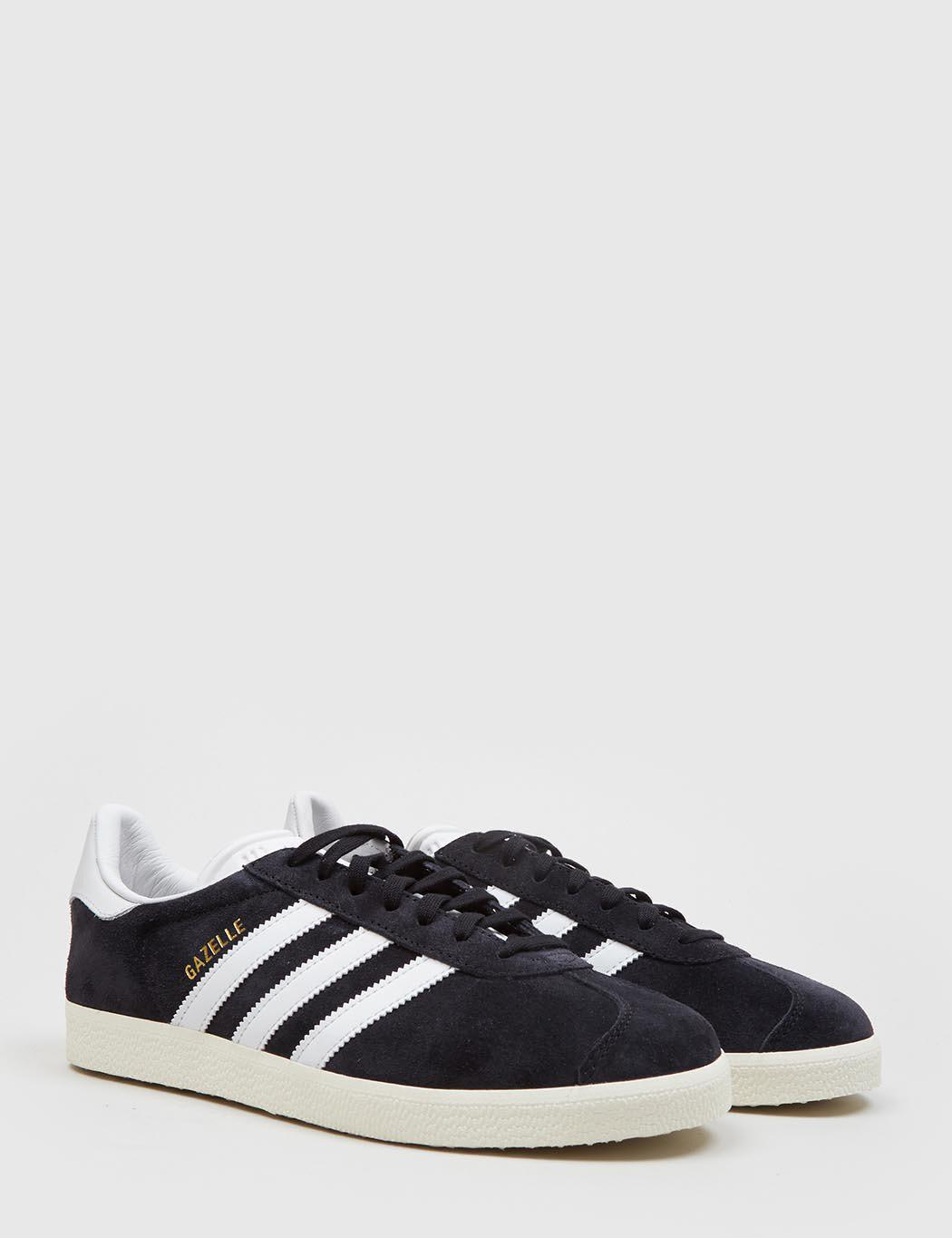 new product 0fcfa b75e4 Lyst - adidas Originals Adidas Gazelle Sneakers in Black - S