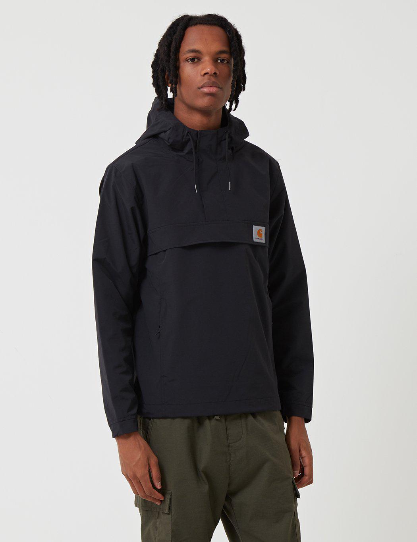 340bd04662d6a Carhartt Nimbus Half-zip Jacket (shell) in Black for Men - Lyst