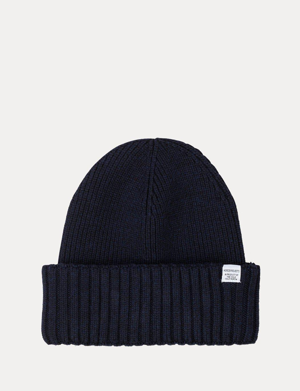 3ea094411d0a5f Norse Projects Chunky Rib Beanie Hat in Blue for Men - Save 14% - Lyst